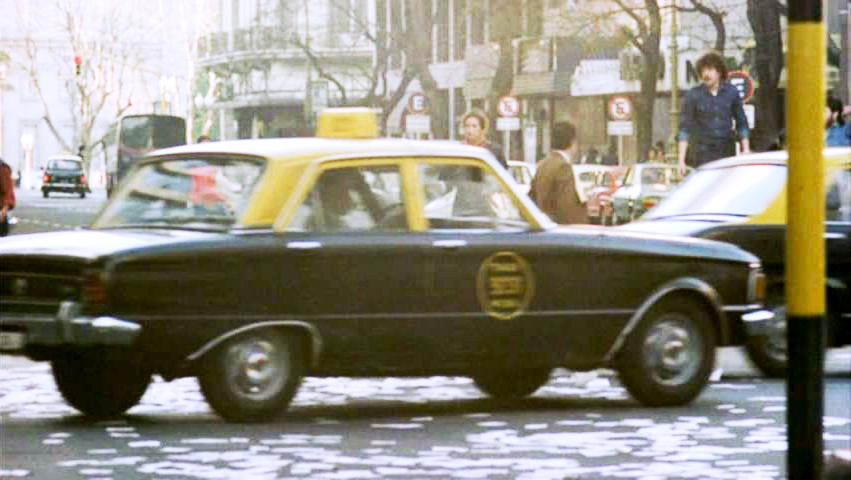 The Argentine Falcon was the ubiquitous taxi cab of the era.