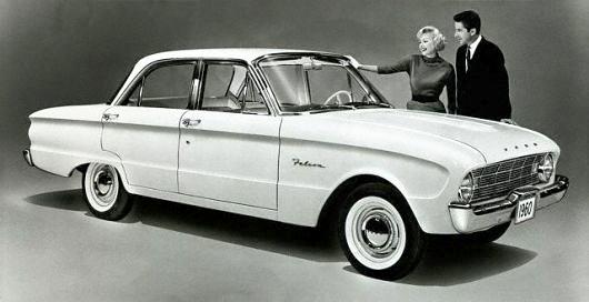 A 1960 Ford Falcon Futura.