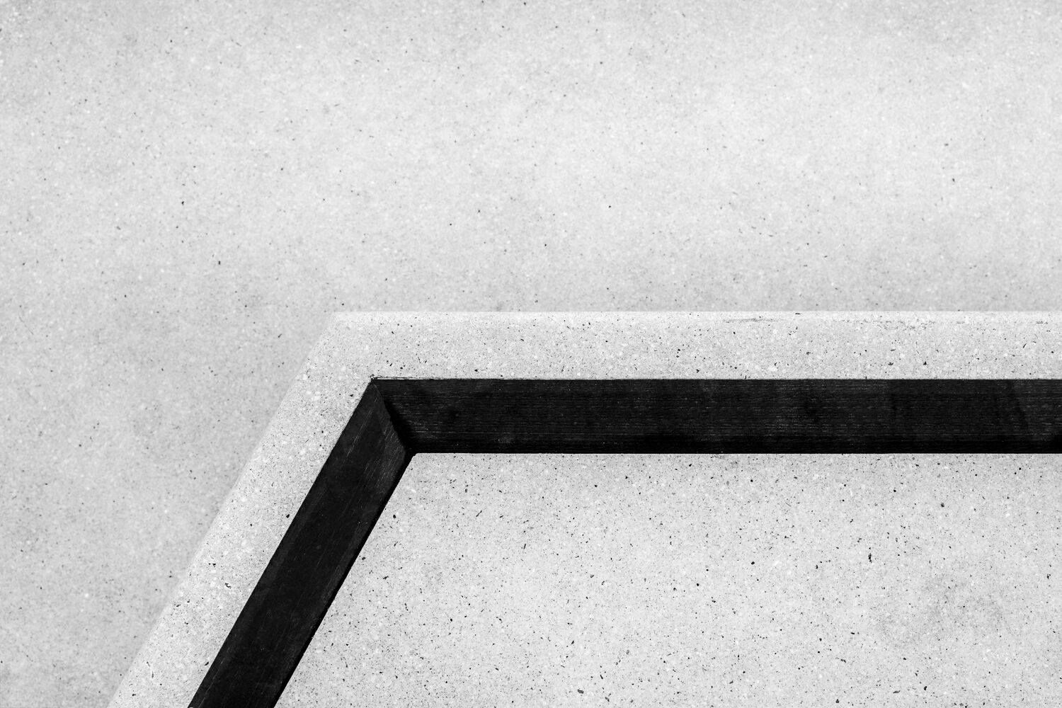 A simple shot, focussing on angles and stripe on stair