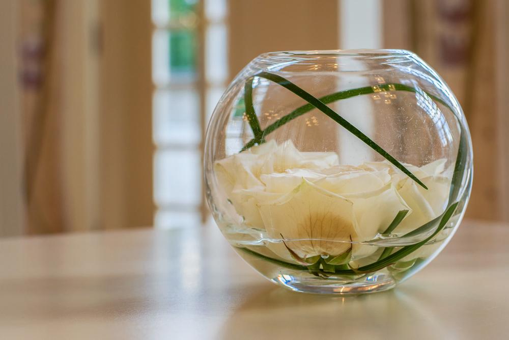 House for an Art Lover Interior Glass Flower Bowl