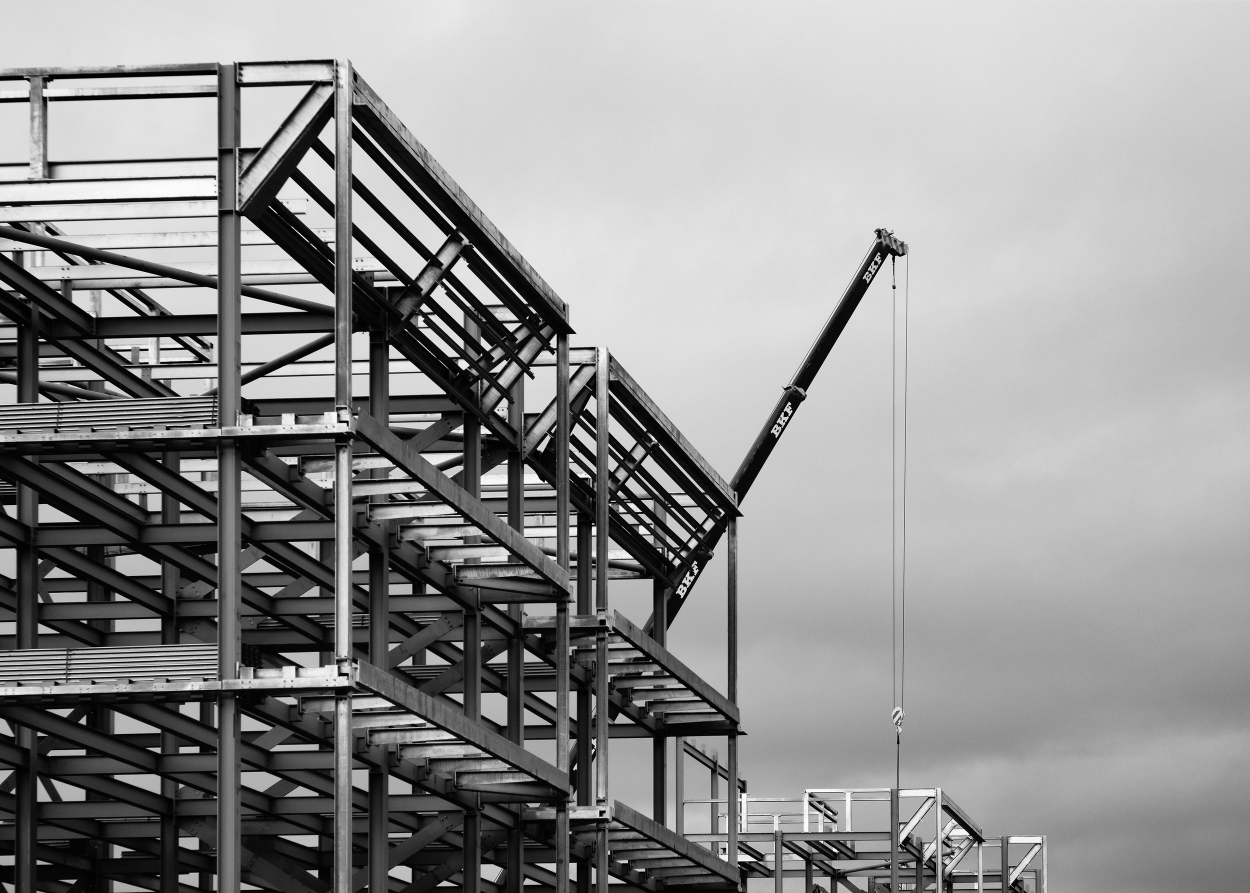 New housing being constructed in Dalmarnock [XT2 / Acros]