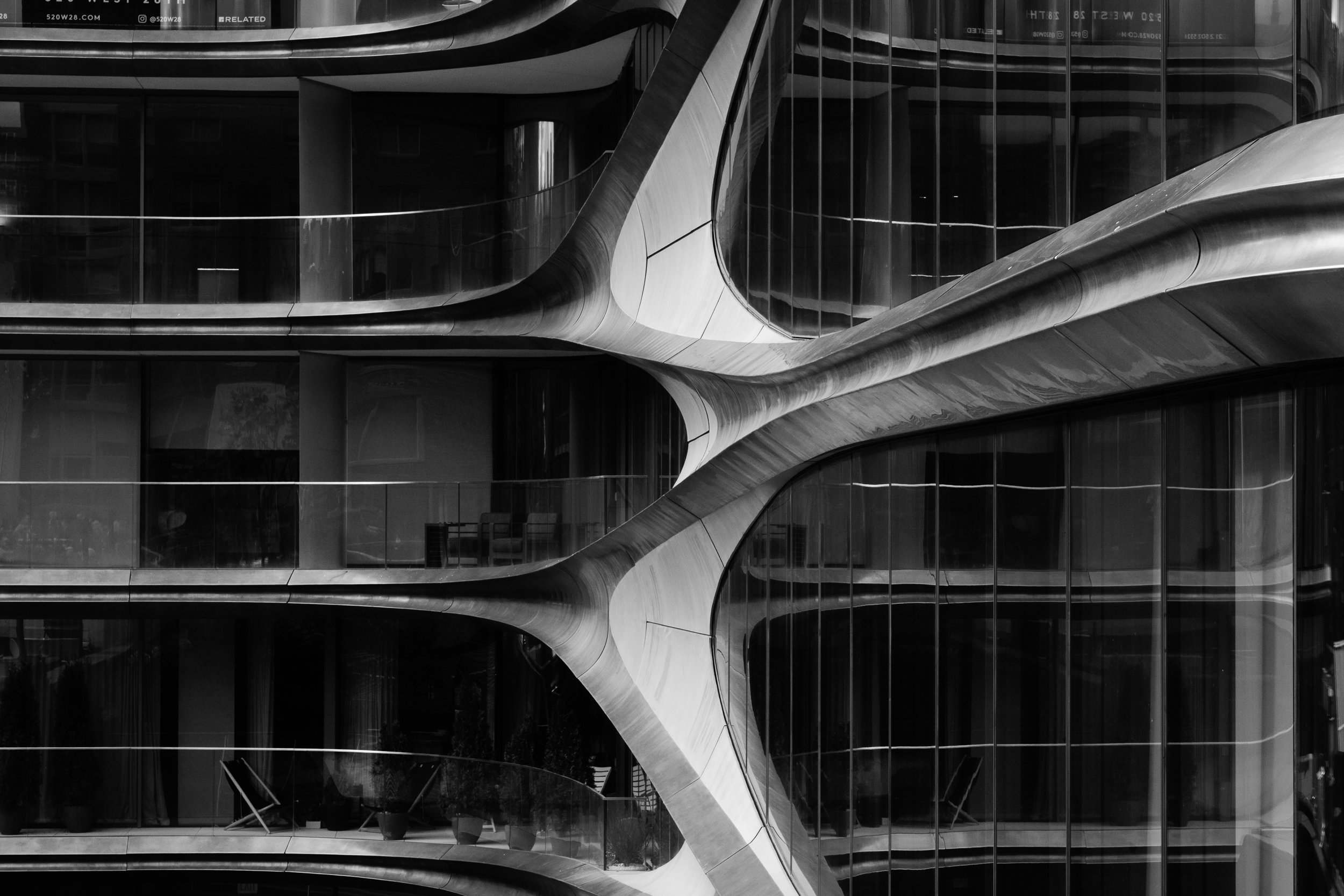 Zaha Hadid apartments The Highline