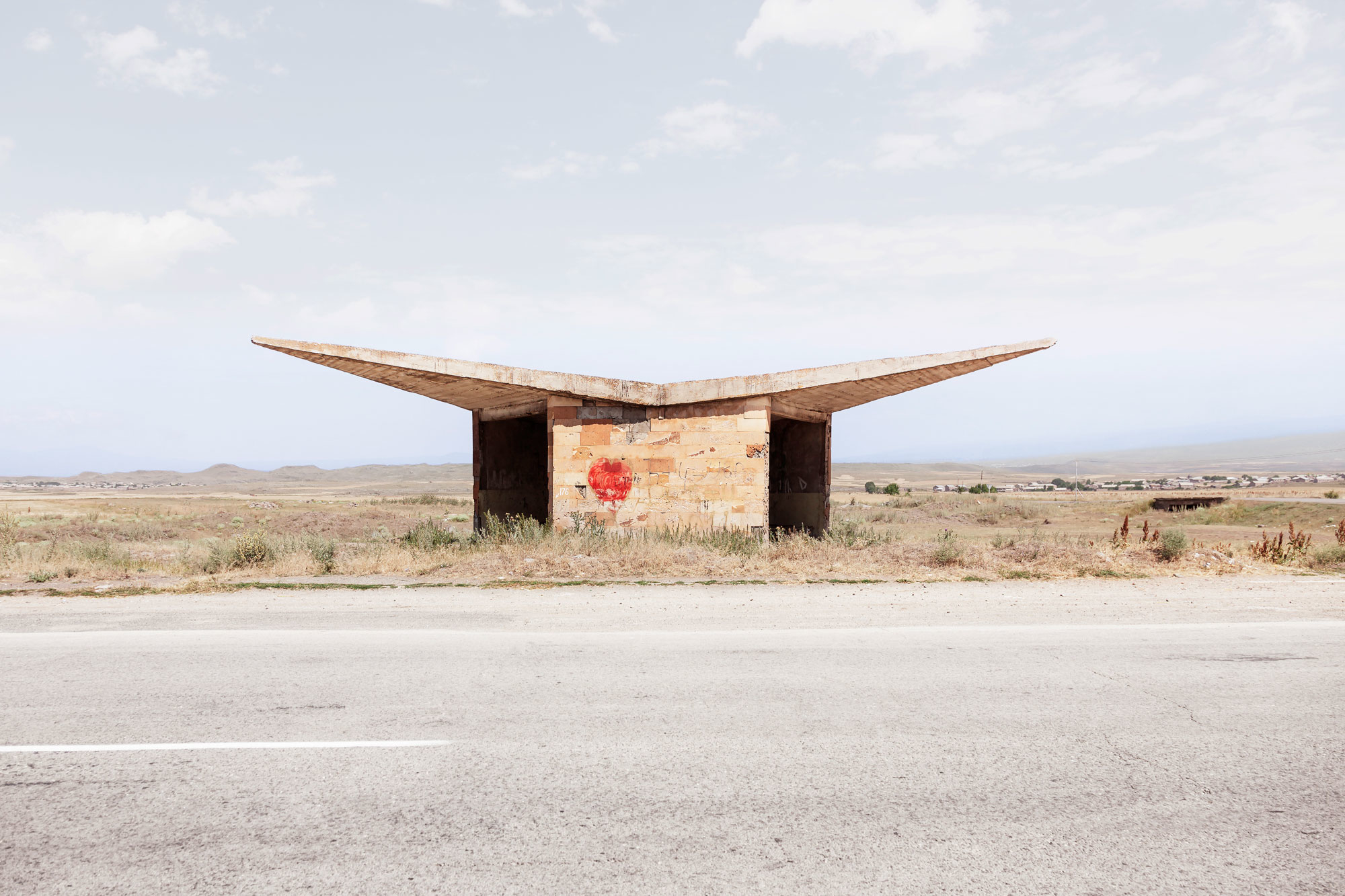 Herwig Soviet Bus Stops Photography 3