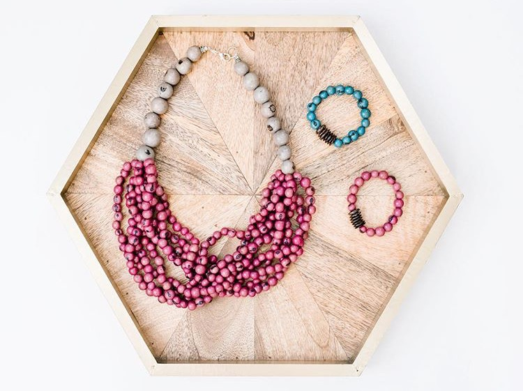 Jewelry and other fun accessories to employ and support women around the world  http://www.fashionandcompassion.com