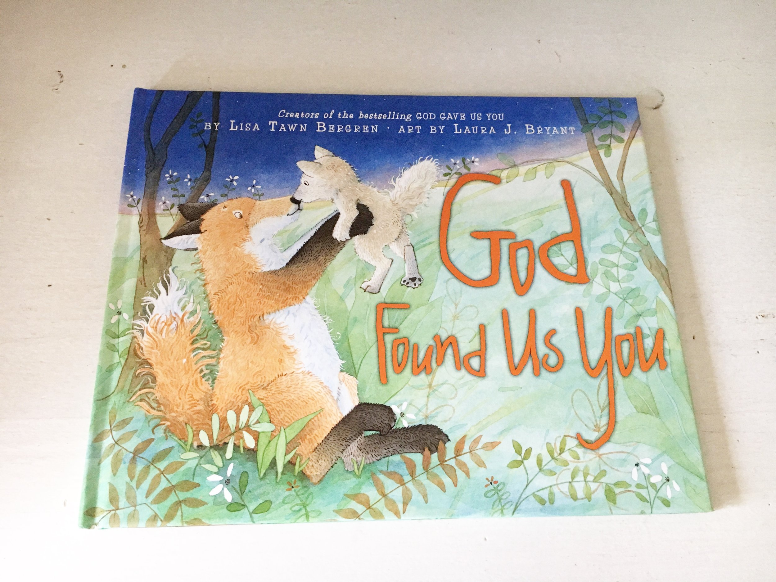 God Found US You       A story about Adoption and Gods providence in brining families together.
