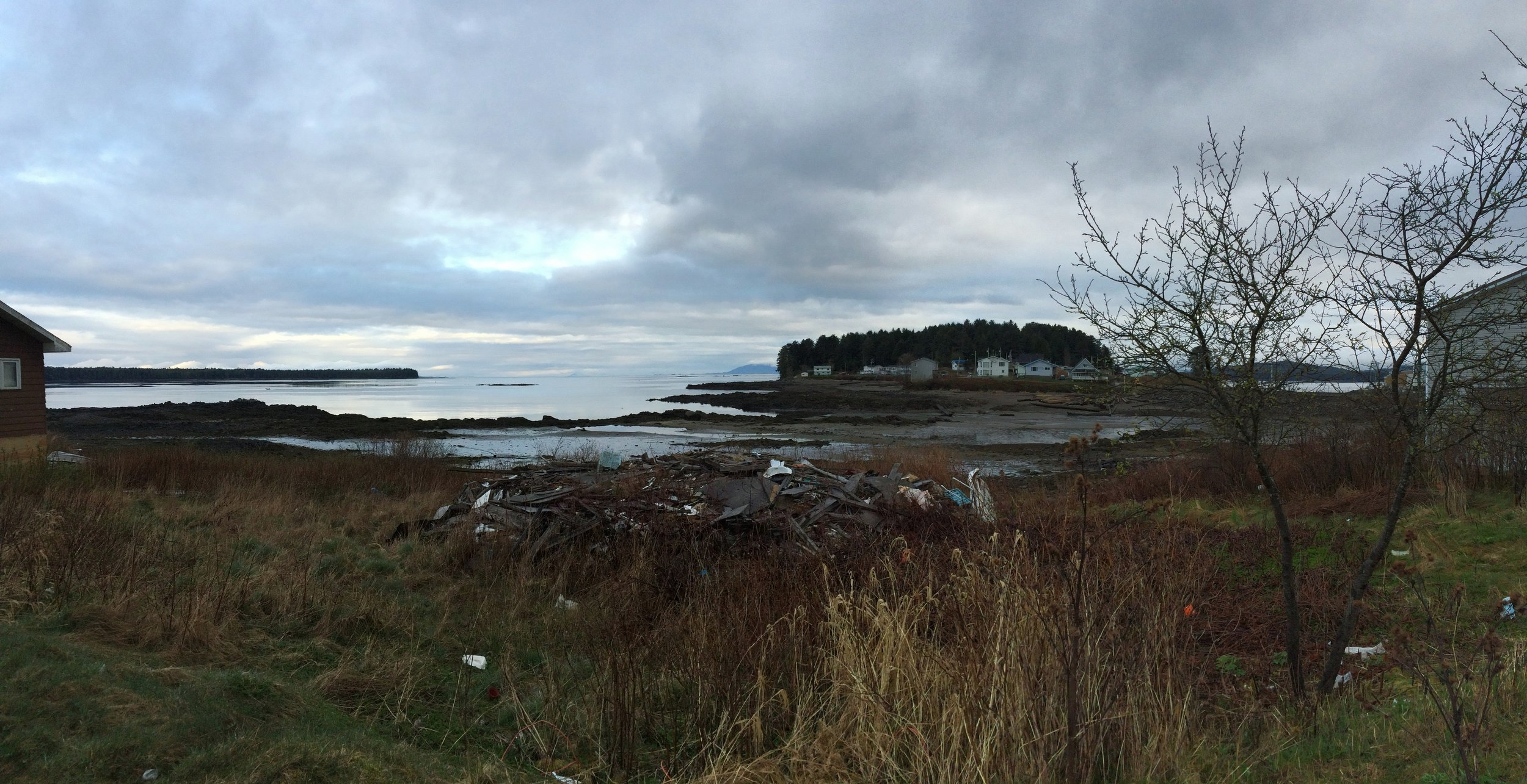 Lax Kw'alaams. Photo taken by Christina Gray March 22, 2016.