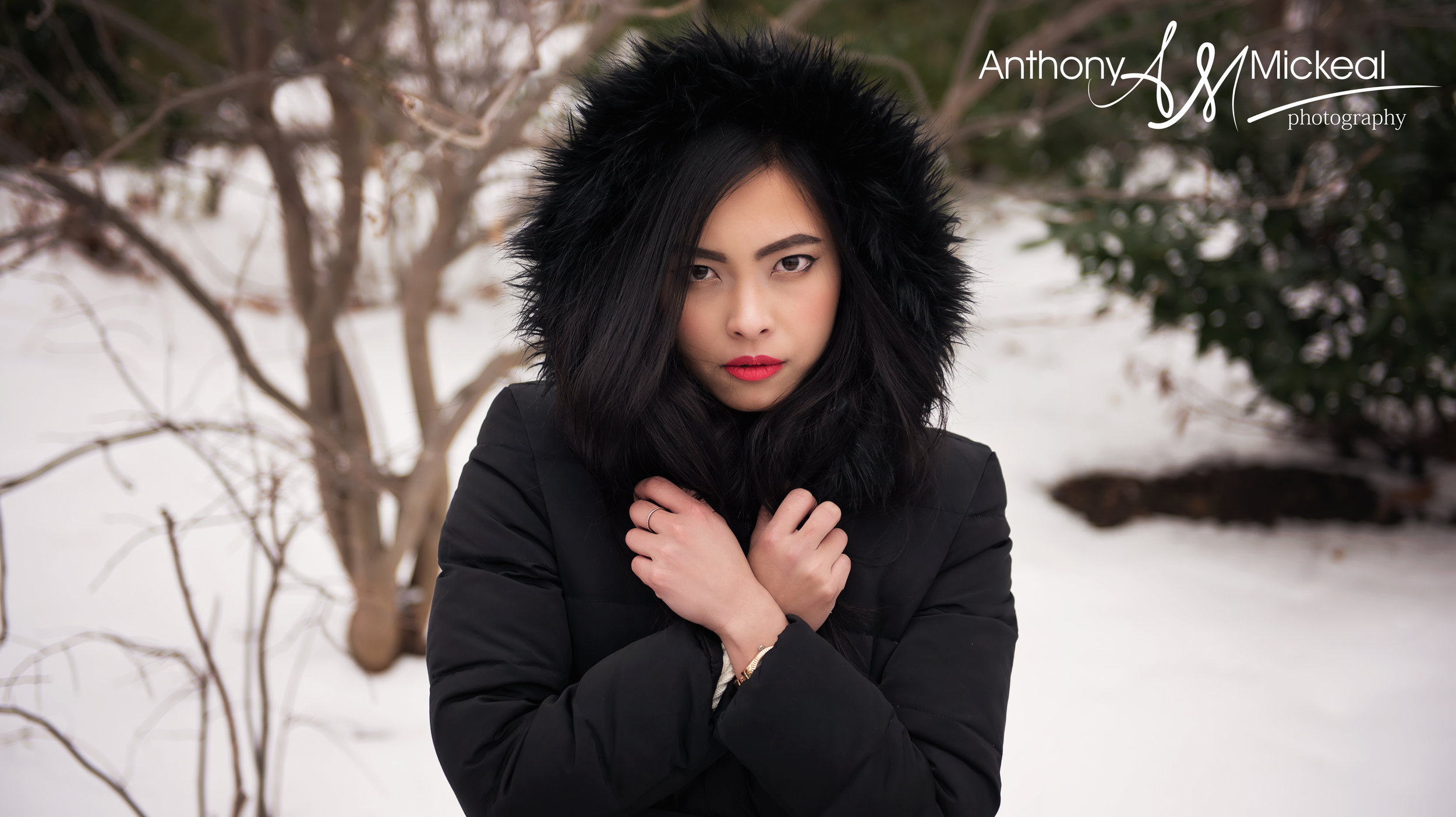 Photoshoot with Japanese Model Mao Hanada at Brooklyn Bridge