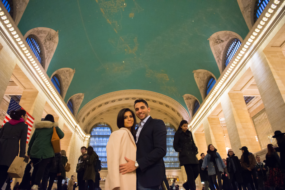 nyc wedding photographer _ couples engagement shoot in grand central station00165.jpg