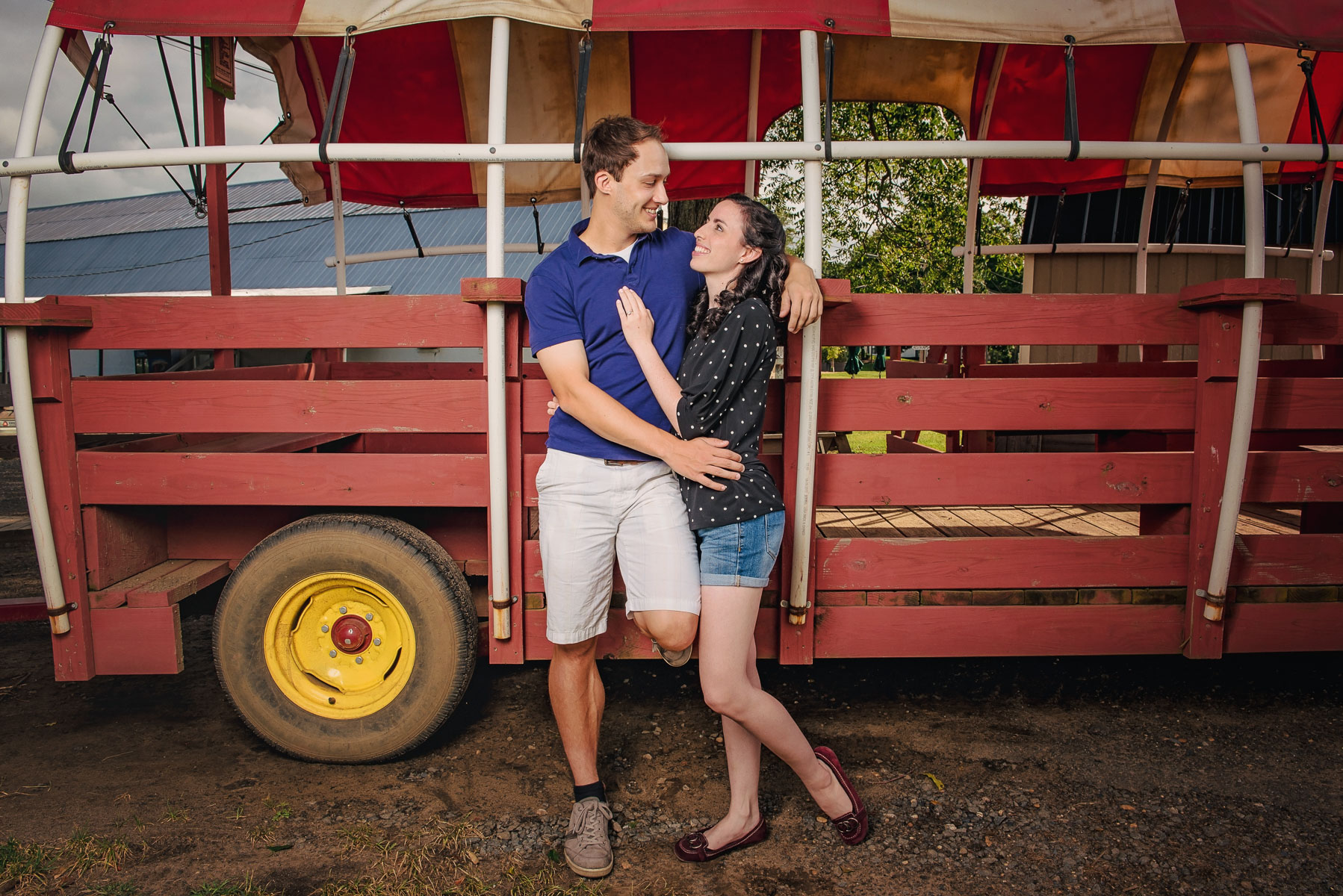 Sunflower farm engagement shoot _ Johnson's Locust Hall Farm _ Jobstown NJ-2.jpg