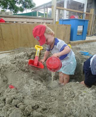 Under 2s Sandpit