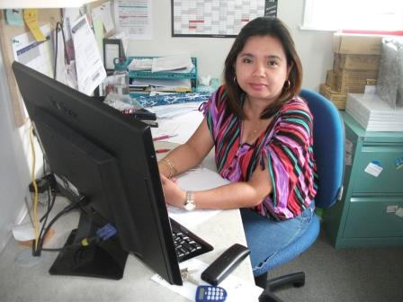 Gerlie Salcedo, Financial Administrator/Kaiahumoni   Mabuhay! I am Gerlie Salcedo, the Financial Administrator of Kids At Play Childcare Centre. I'm a mother of 2 children. My husband & I, together with our daughter migrated in NZ in 2003. My son was born here in NZ in 2004.  I was born and gained my bachelor's degree in Accounting in the Philippines. I also lived and worked for 7 years in Papua New Guinea as a financial controller before coming here in NZ.  I have been the Financial Administrator in Kids at Play since 2003.