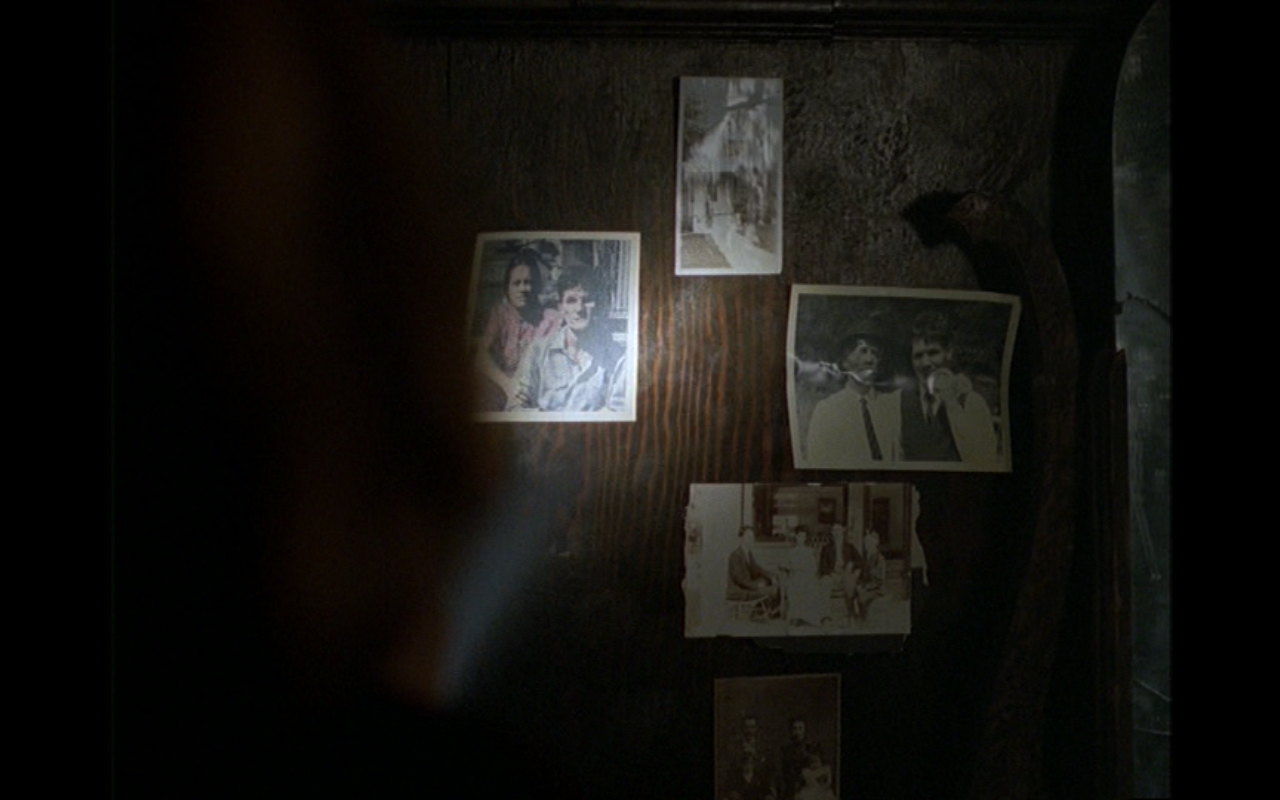 Figure 2: That previous generations of the Peacock family have taken nostalgia too far manifests physically in the genetic anomalies seen in the sepia-toned photographs. Photo credit: screen capture (20th Century Fox Studios).