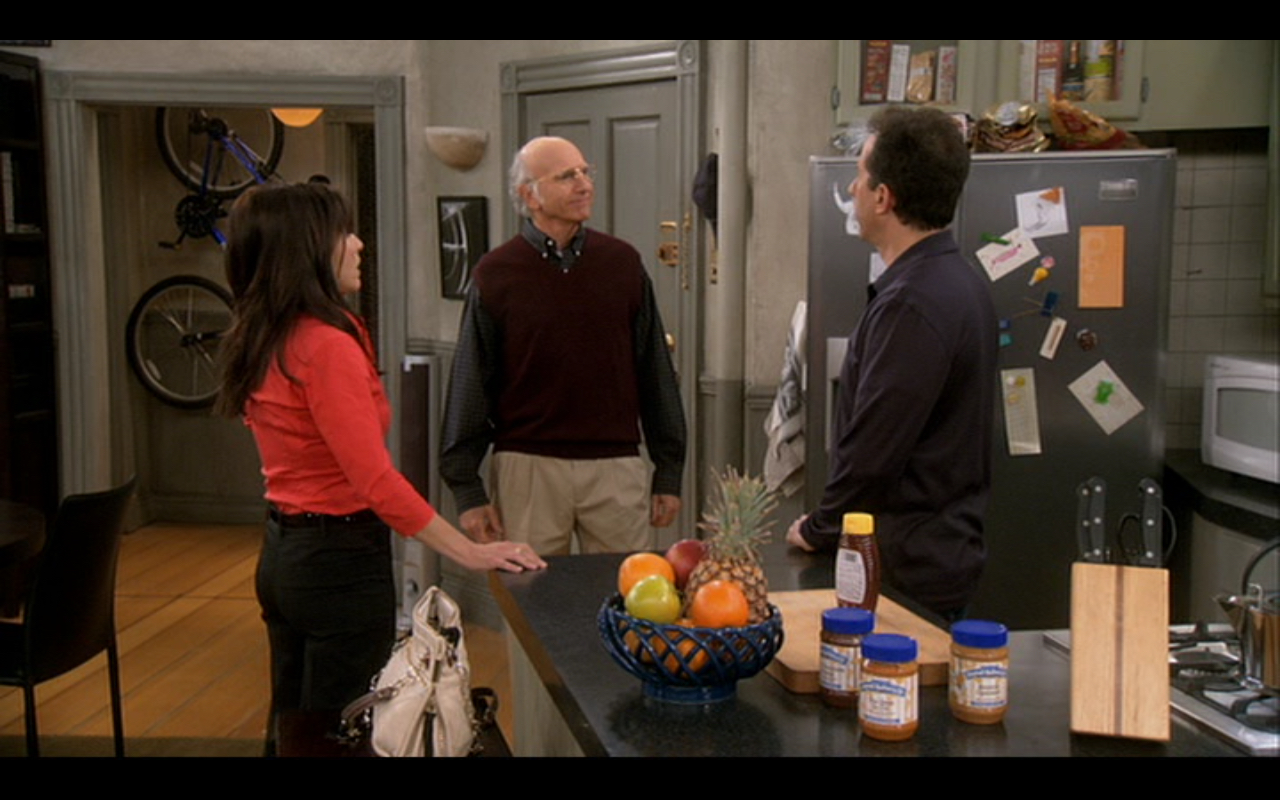 """Figure 3: """"George is getting upset!"""" Larry David tries hilariously and unsuccessfully to fill Jason Alexander's shoes in """"Seinfeld""""."""