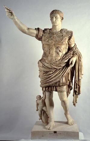 Figure 1: The Augustus of Prima Porta statue.