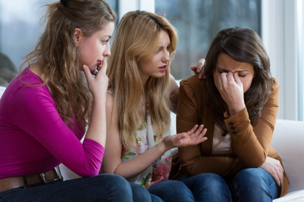 Support groups offer the addict an opportunity for help and encouragement.