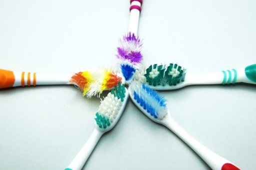 Replace your toothbrush every 3-4 months, or more often if it becomes frayed.