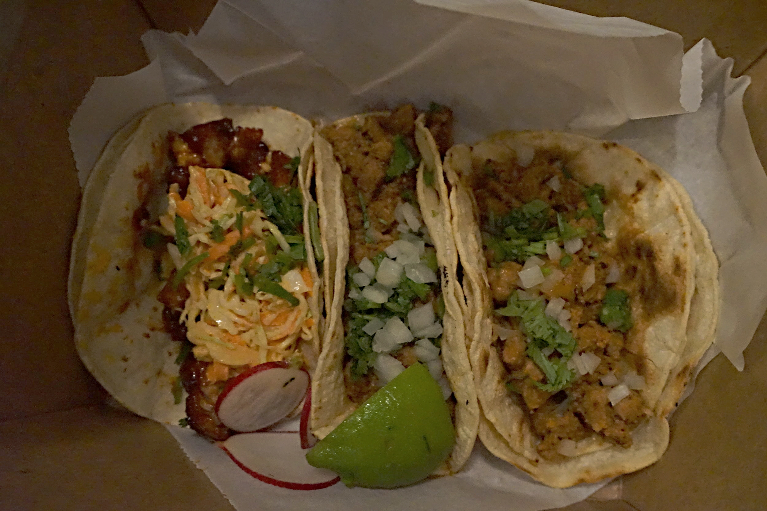 How I knew they were legit: Authentic Street Tacos