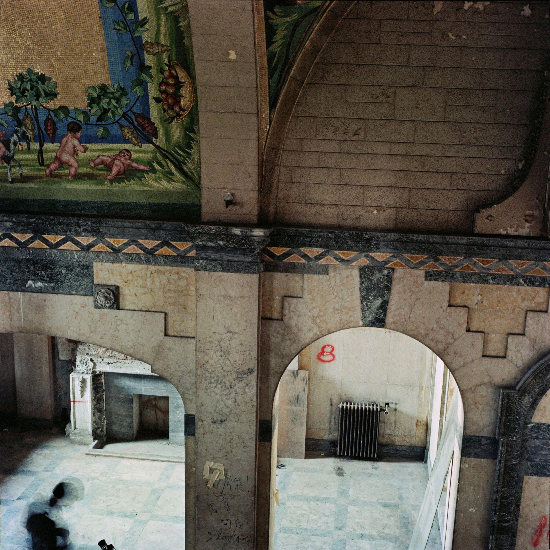 Arch, Euston Mansion