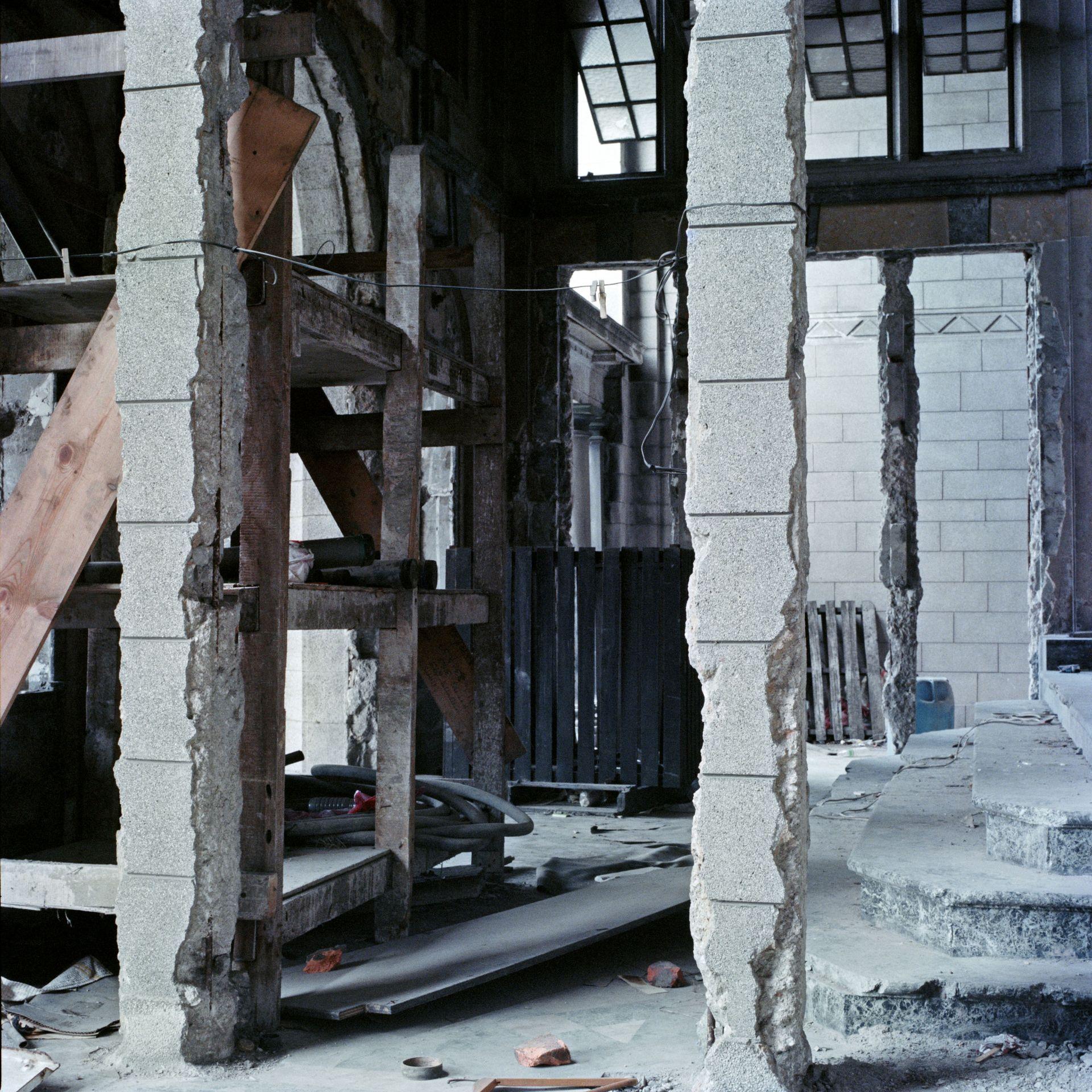 Columns, Euston Mansion