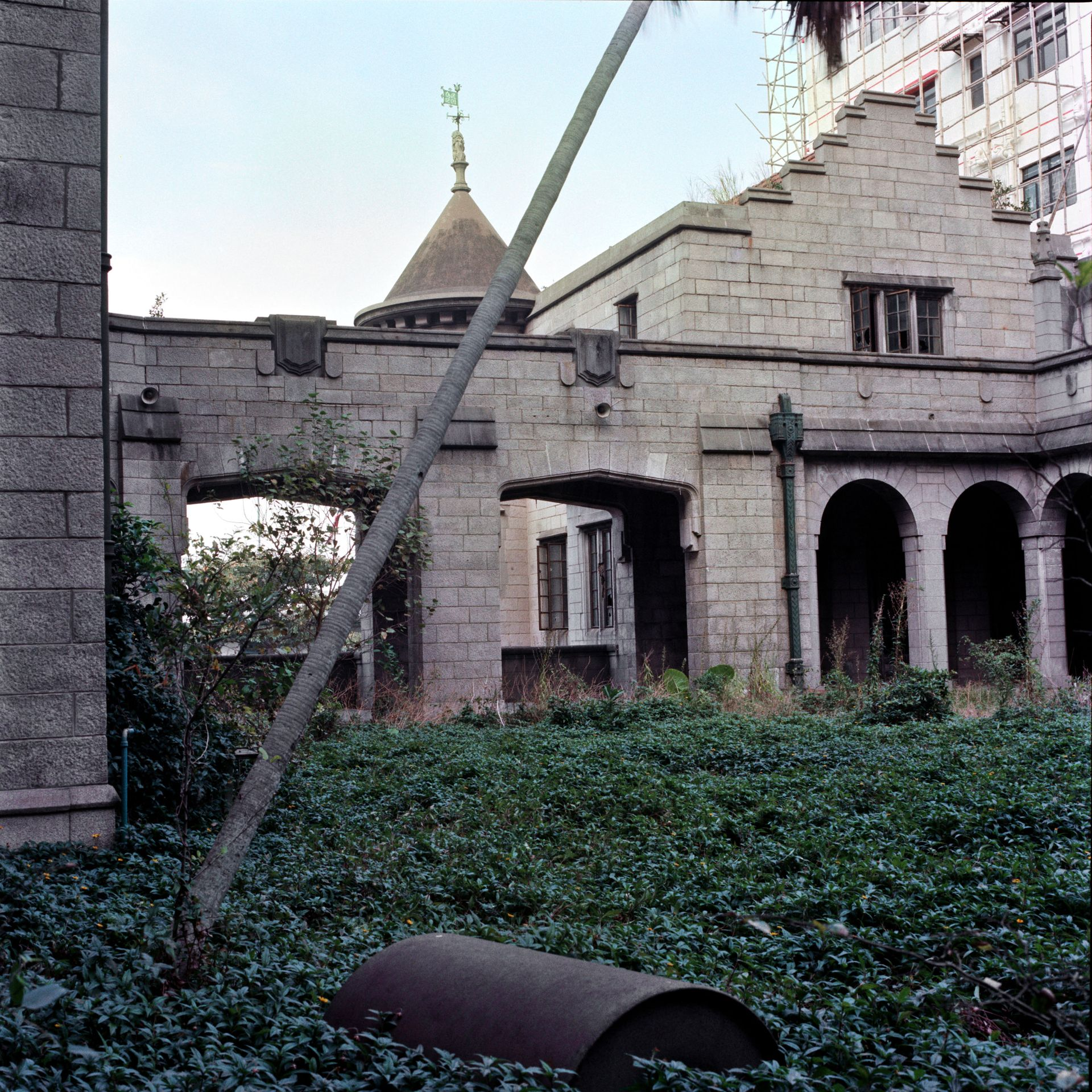 Garden, Euston Mansion