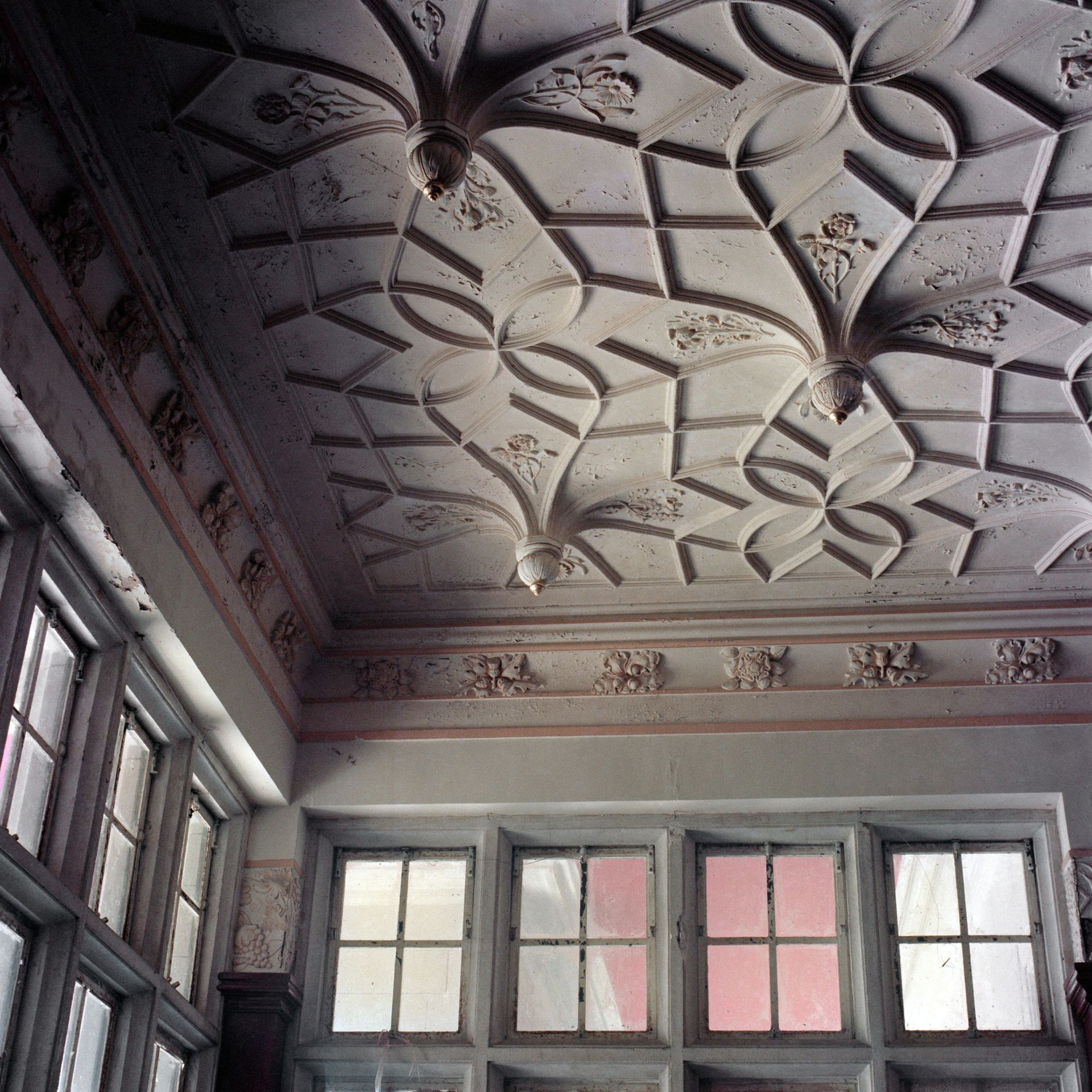 Ceiling, Eucliff Mansion