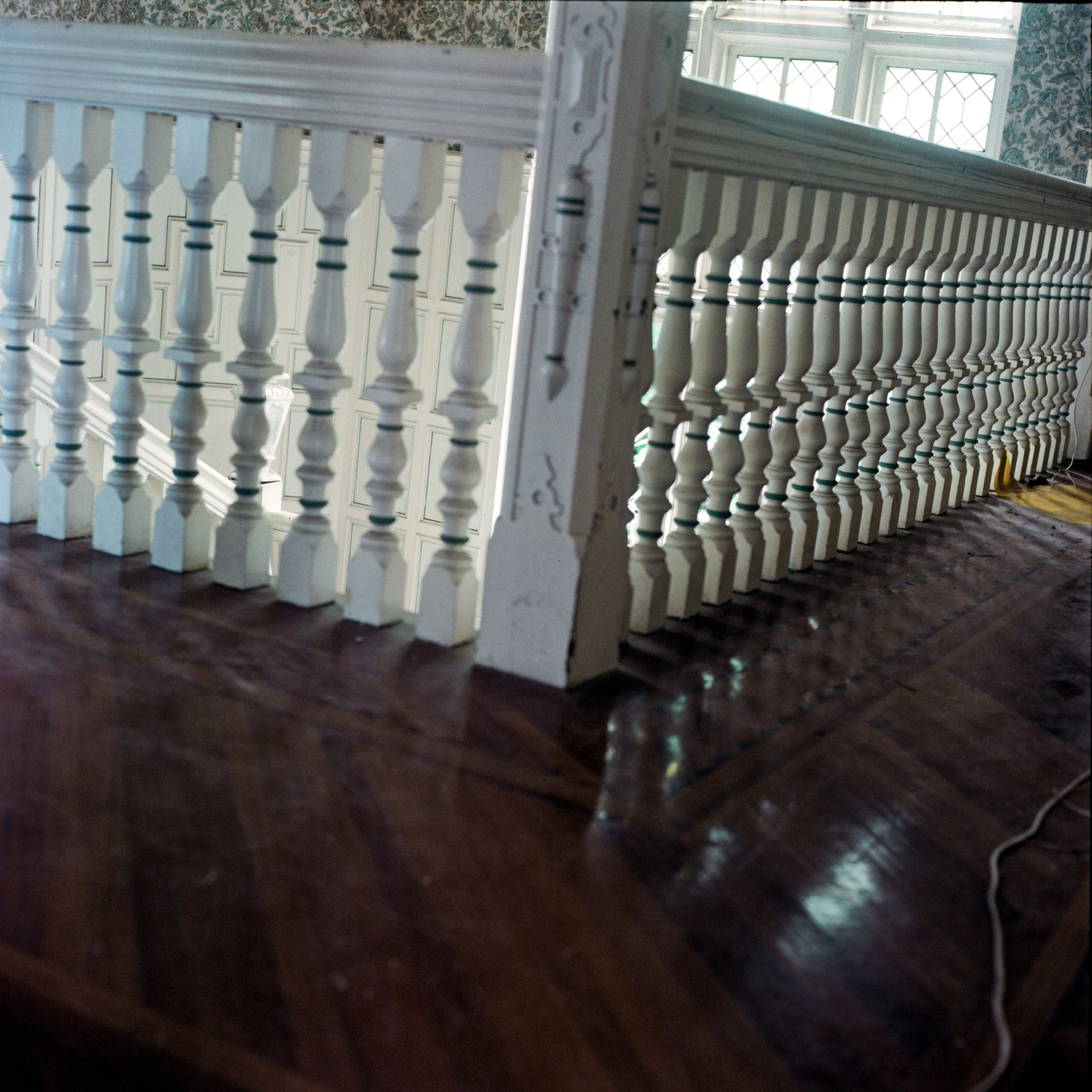 Railing, Eucliff Mansion