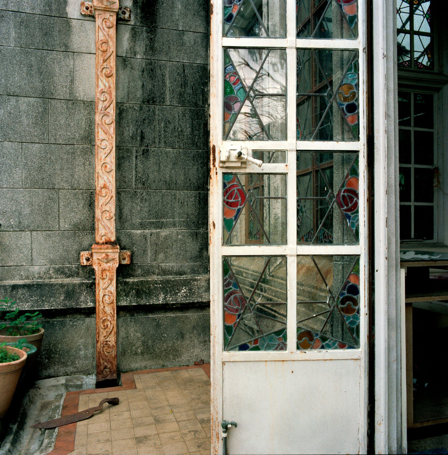 Side Door, Eucliff Mansion