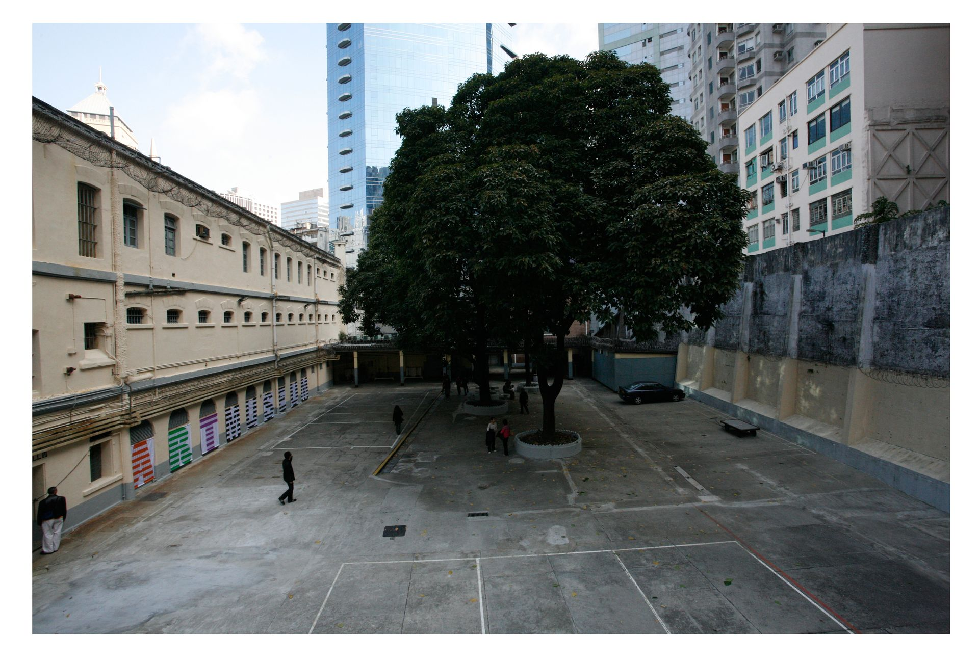 Courtyard, old Central Police Station, 2006