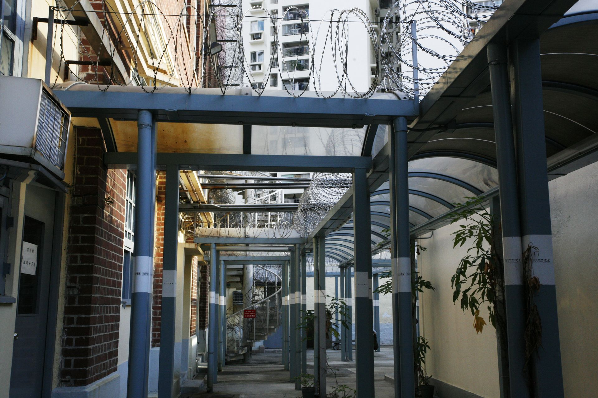 Corridor, old Central Police Station, 2006