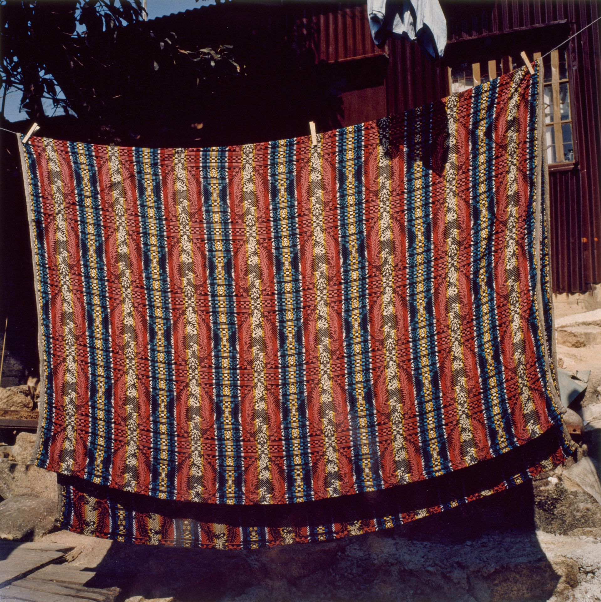 Drying Blanket, Tai O Fishing Village, Hong Kong 1980's