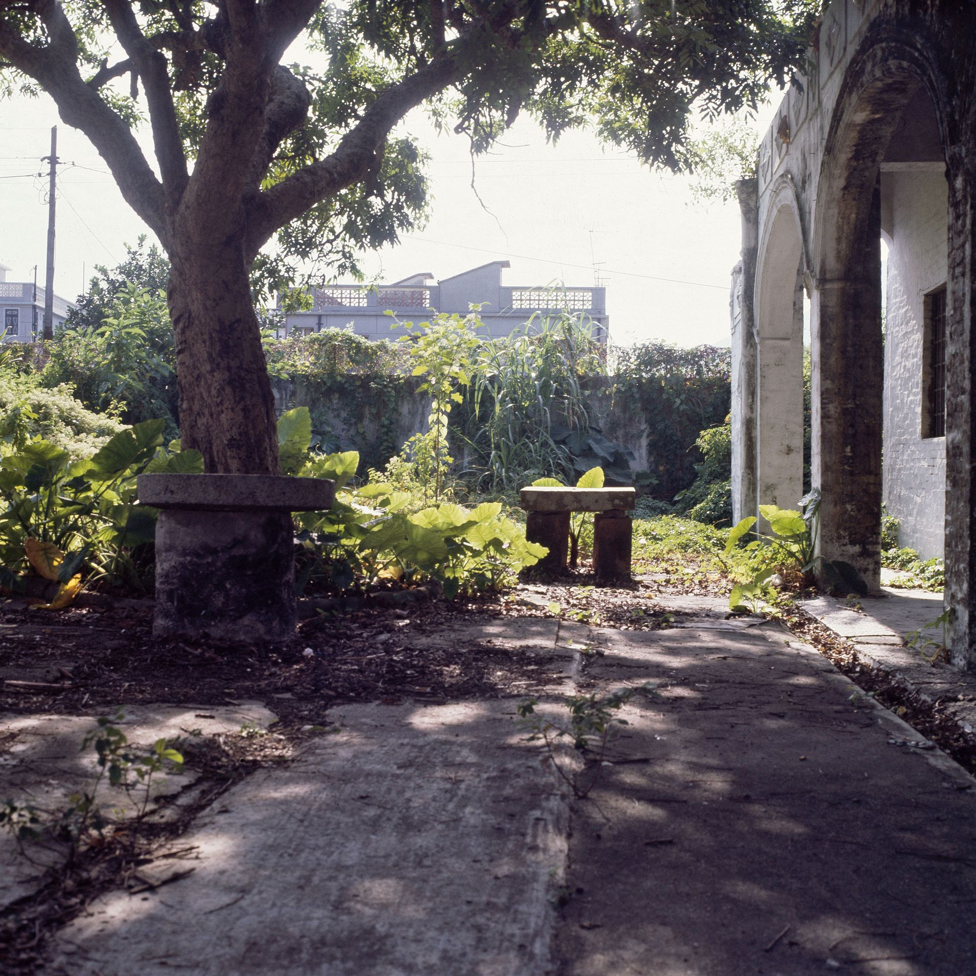 Deserted School Lane, Tuen Mun, Hong Kong 1980's