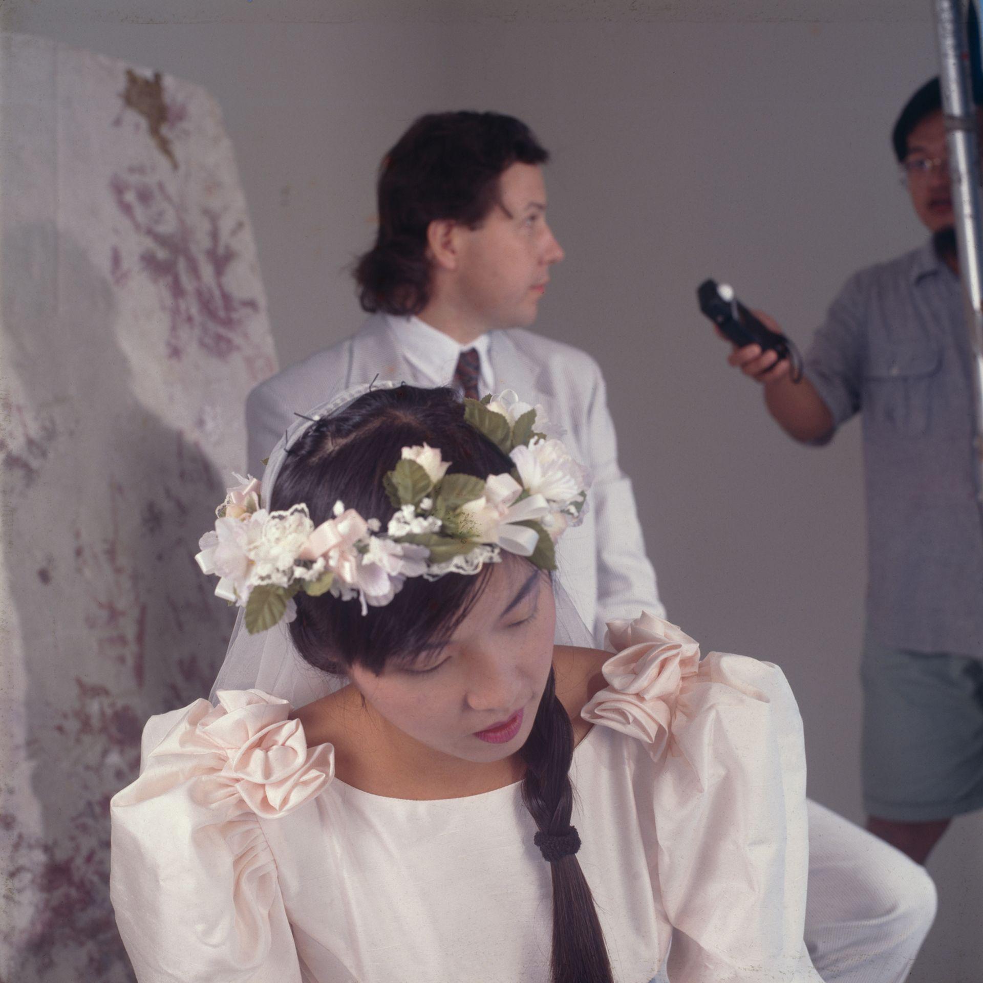 Annie's Wedding Photo, 1990's