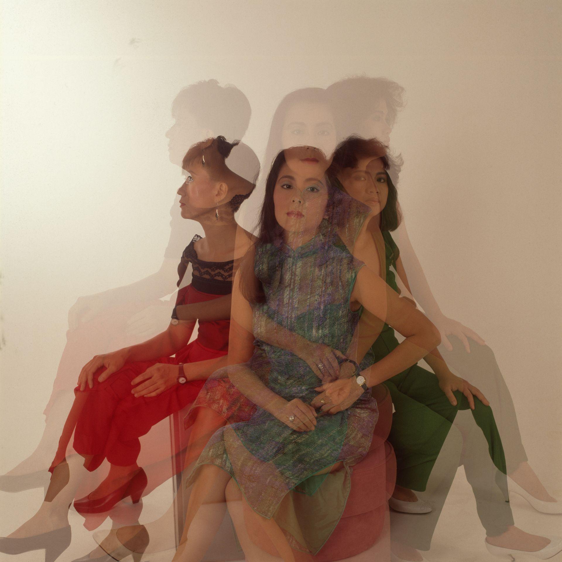 Three Women Shadow, 1990