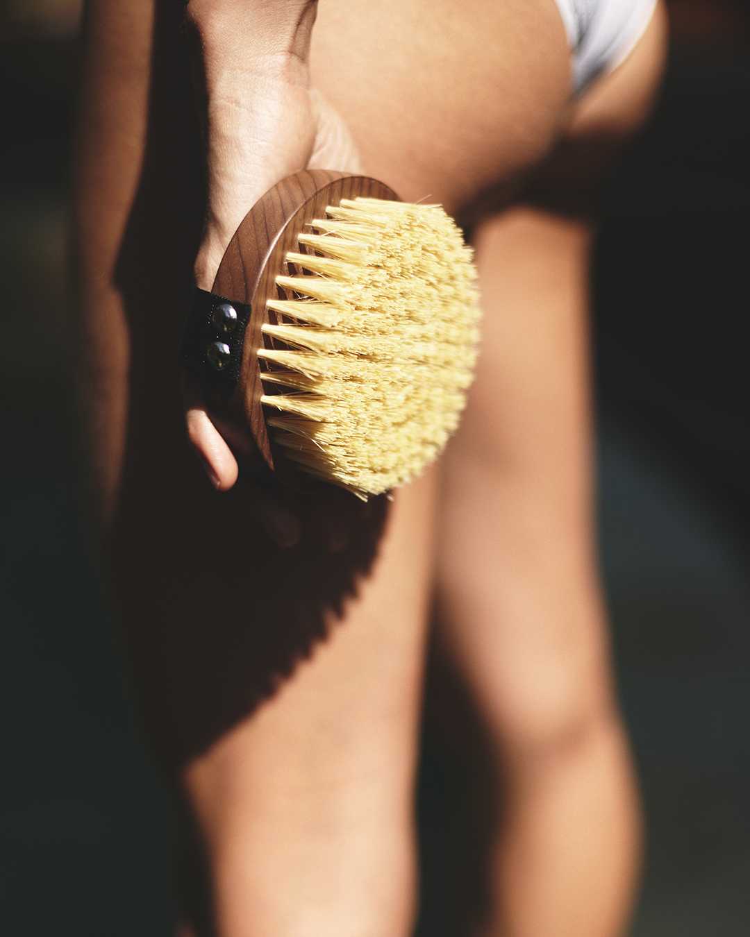 The history of the body brush