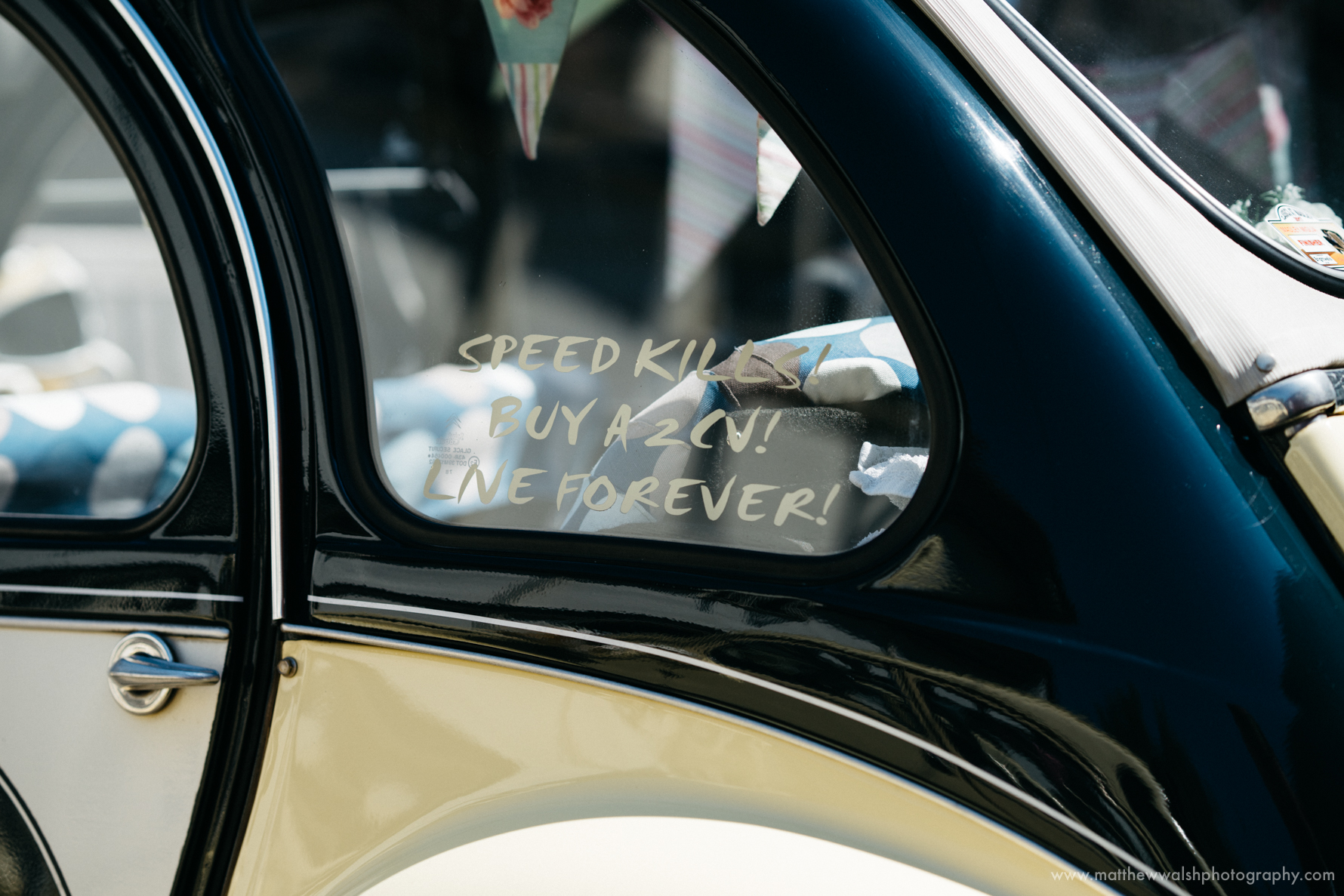 Wedding car humour