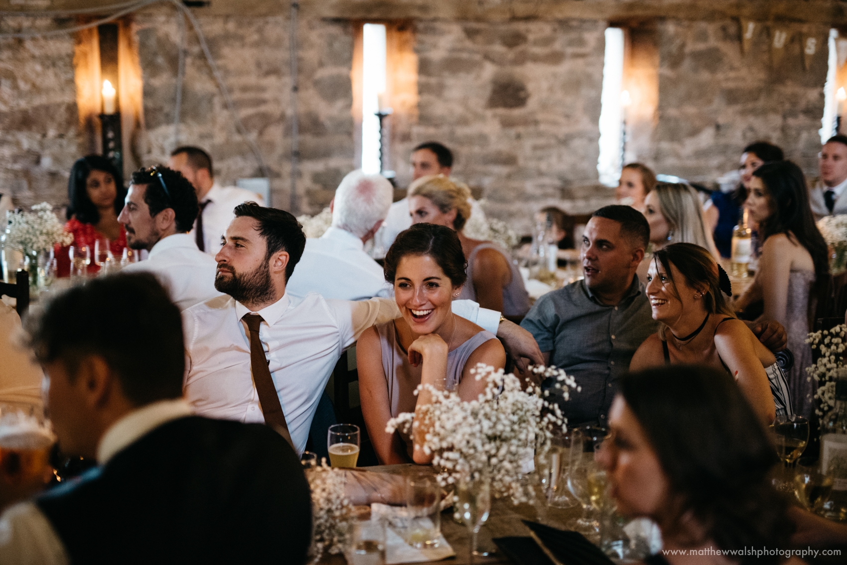 Guests find the best man speeches hilarious