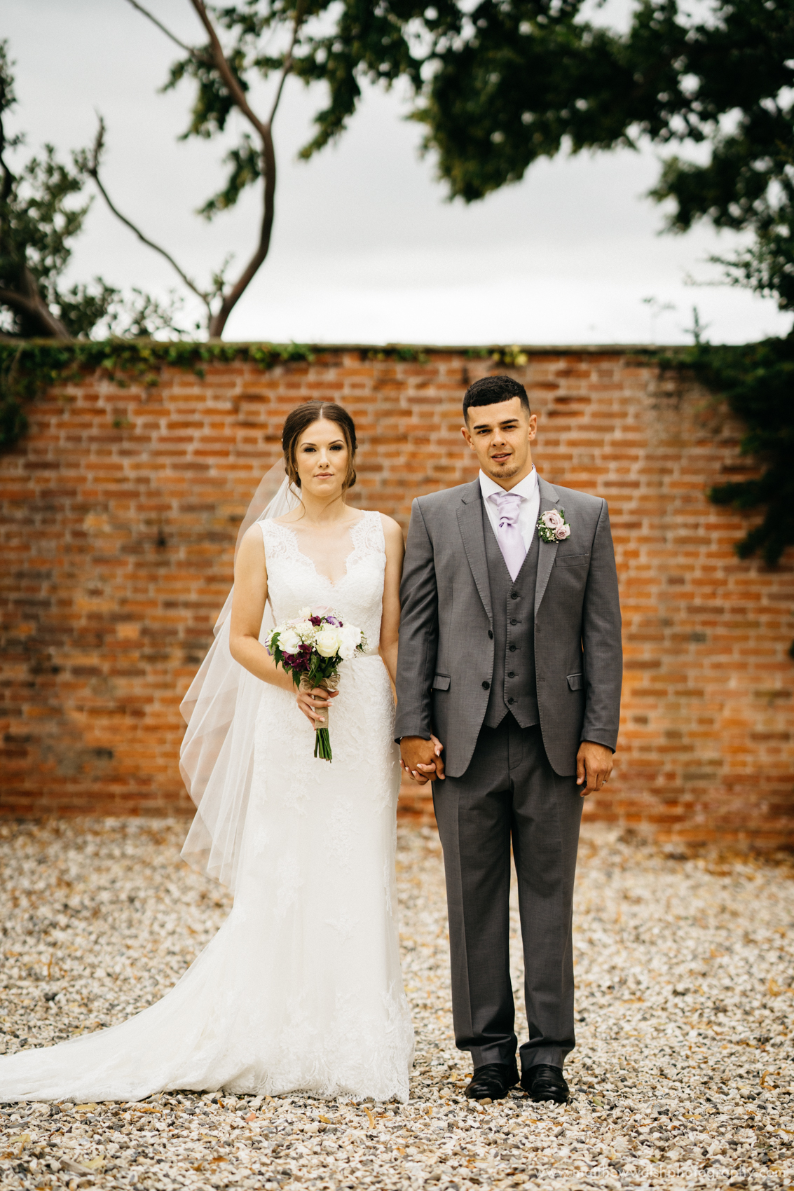 The classic Bride and groom portrait