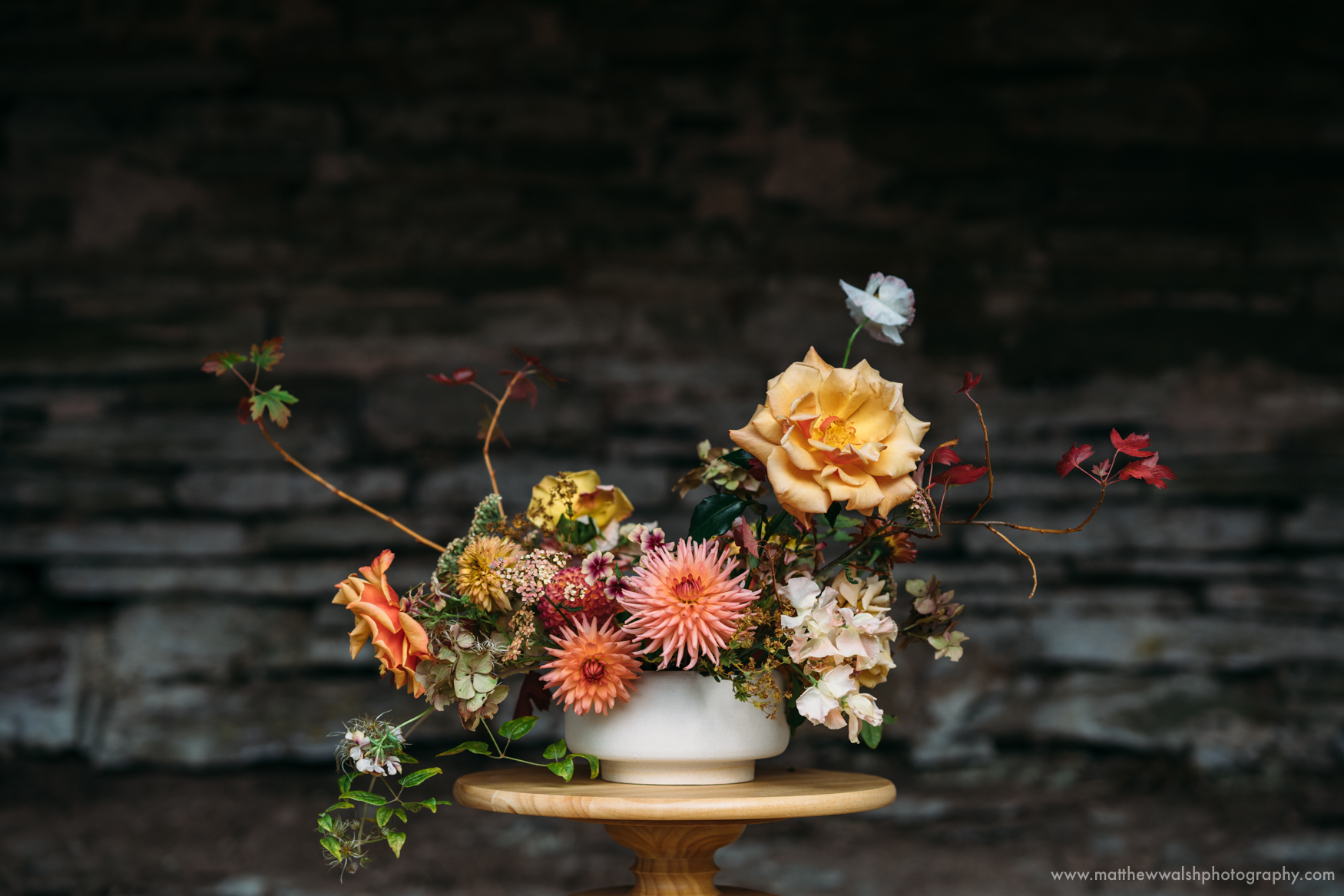 Moss and Stones final product, amazing colourful and elegant flowers
