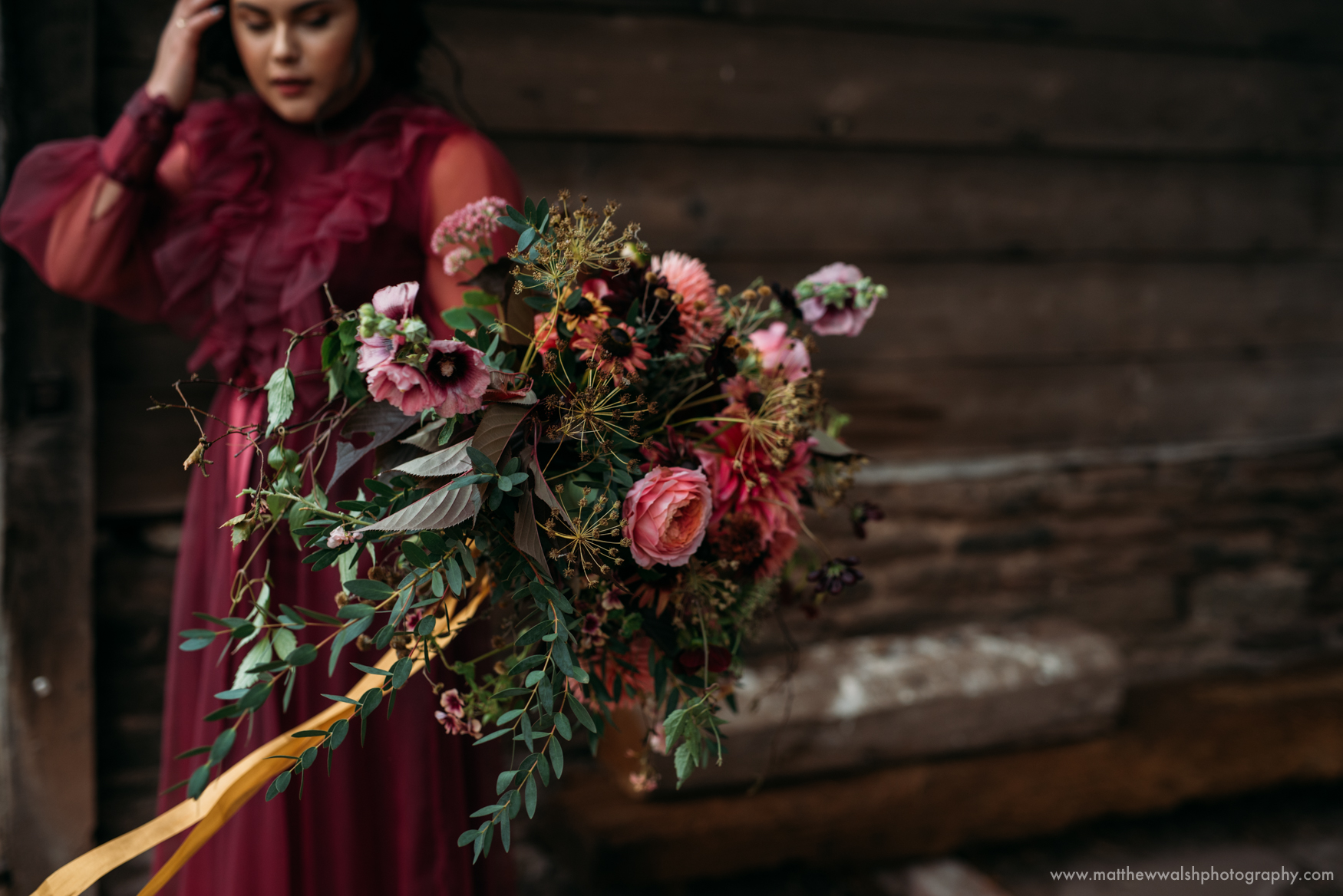 Bouquet close up, deep, incredible colours