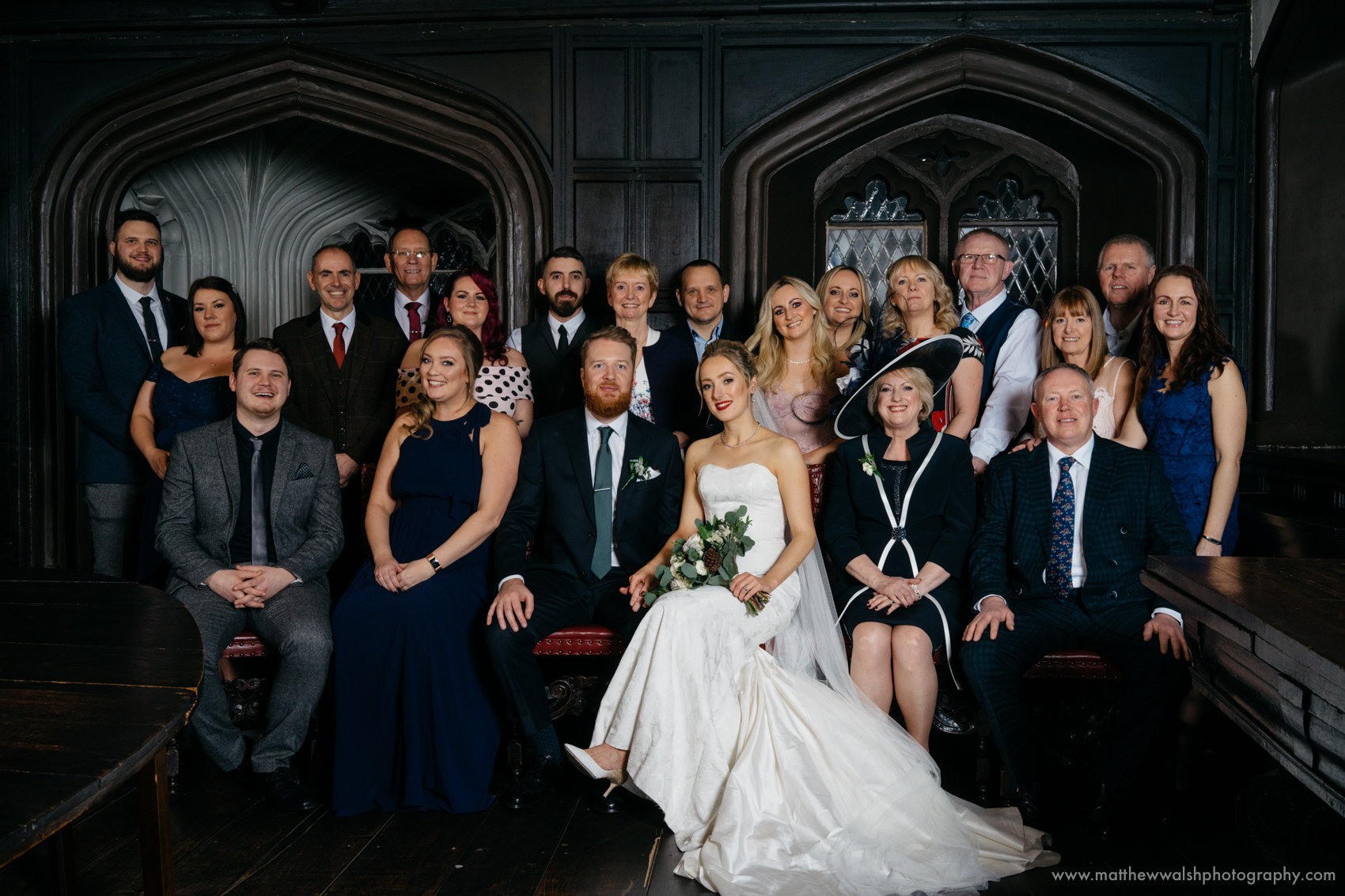 A wedding is the perfect time for a family portrait