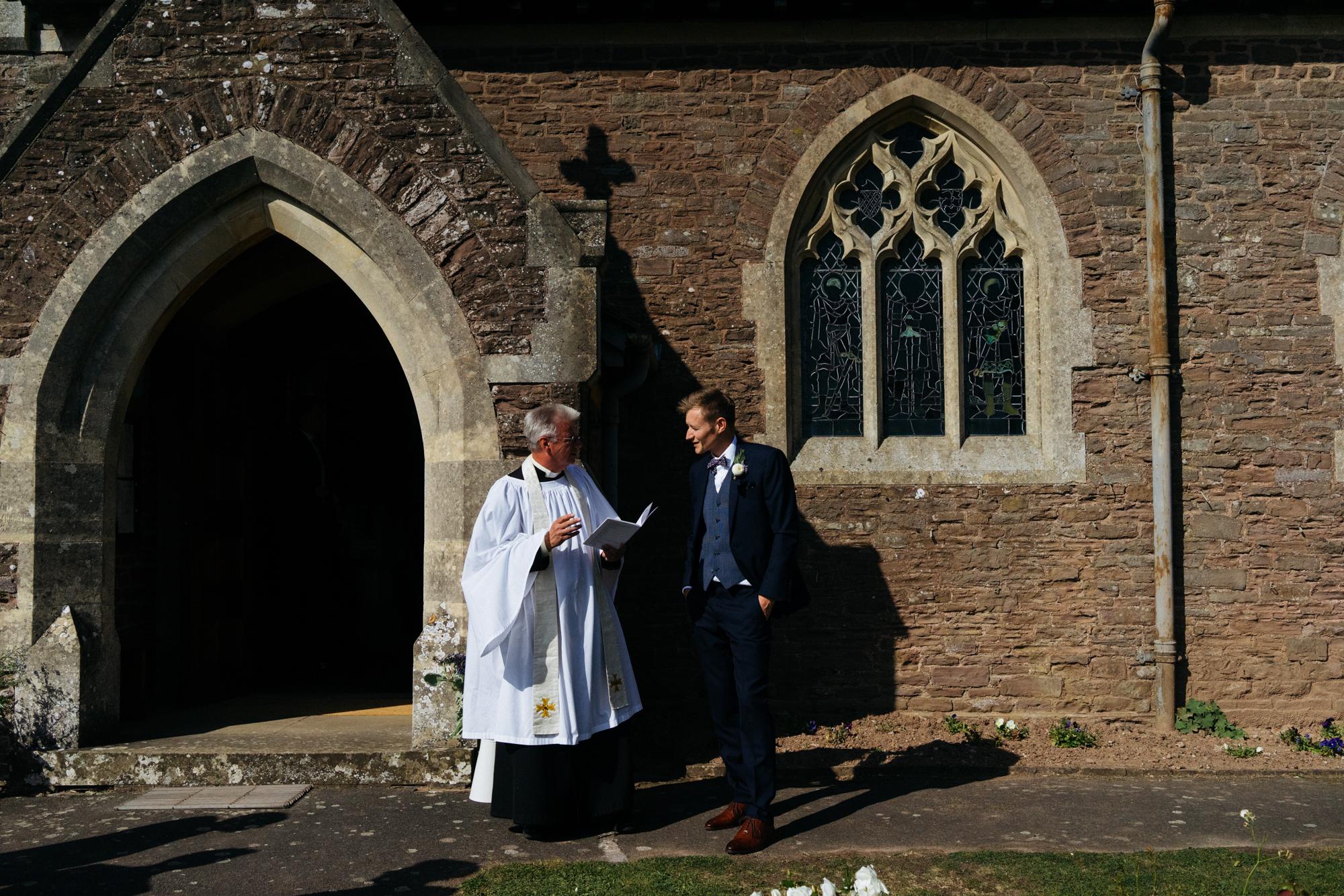 Vicar and Groom