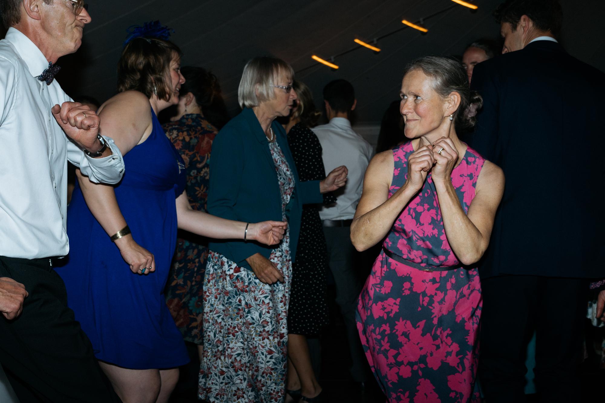 All dancing
