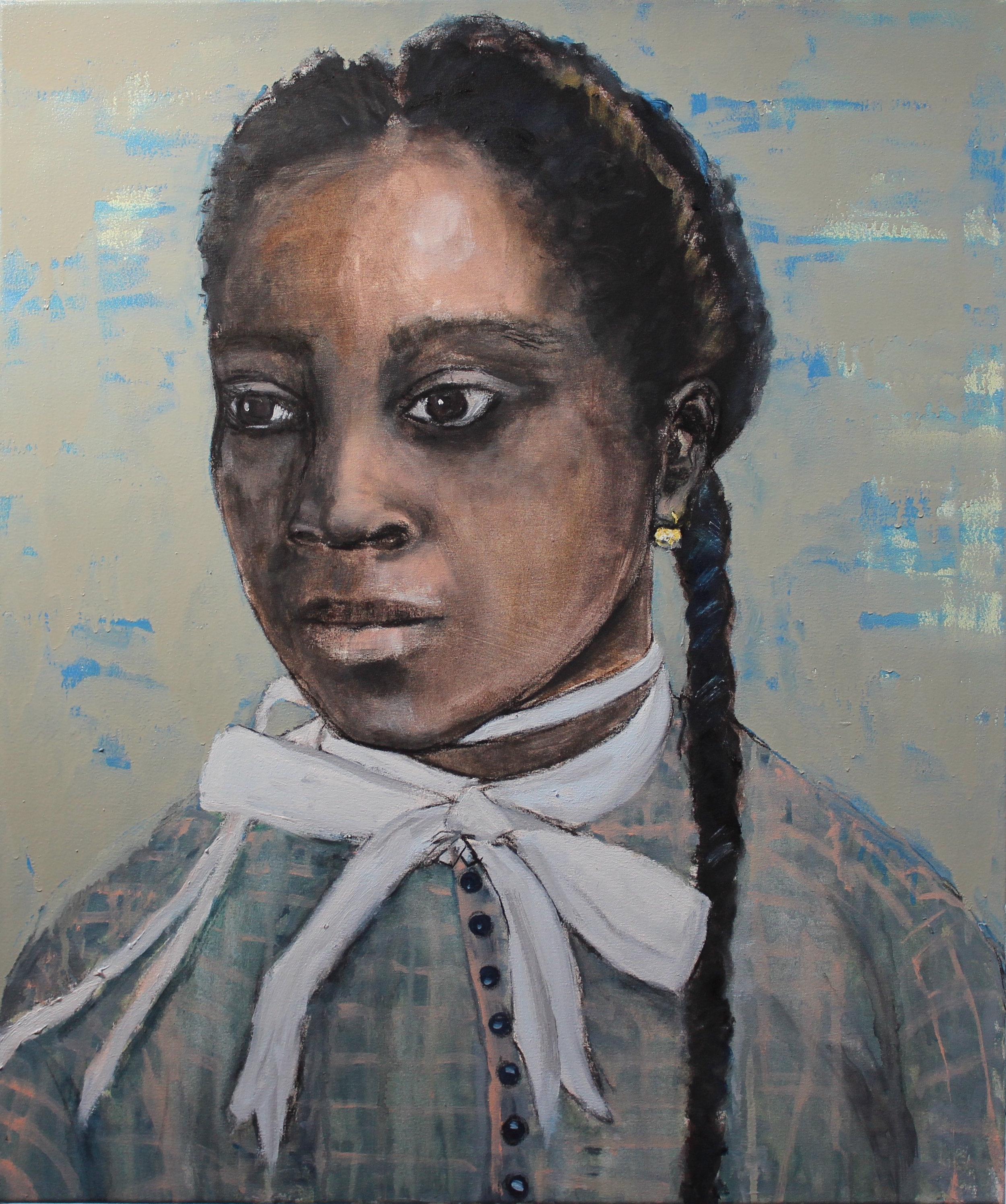 Girl - Oil on canvas
