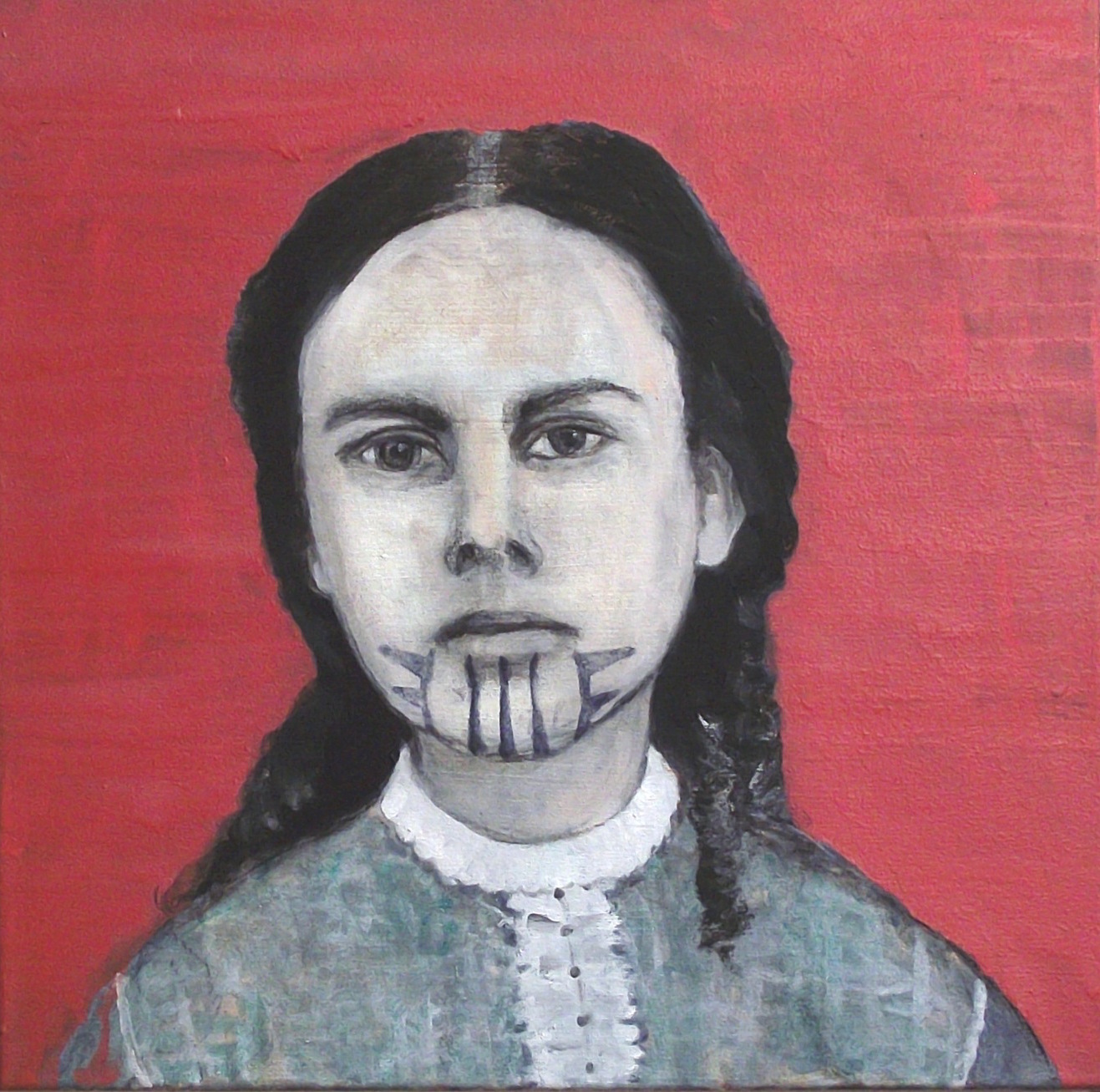 Olive Oatman  Oil on canvas
