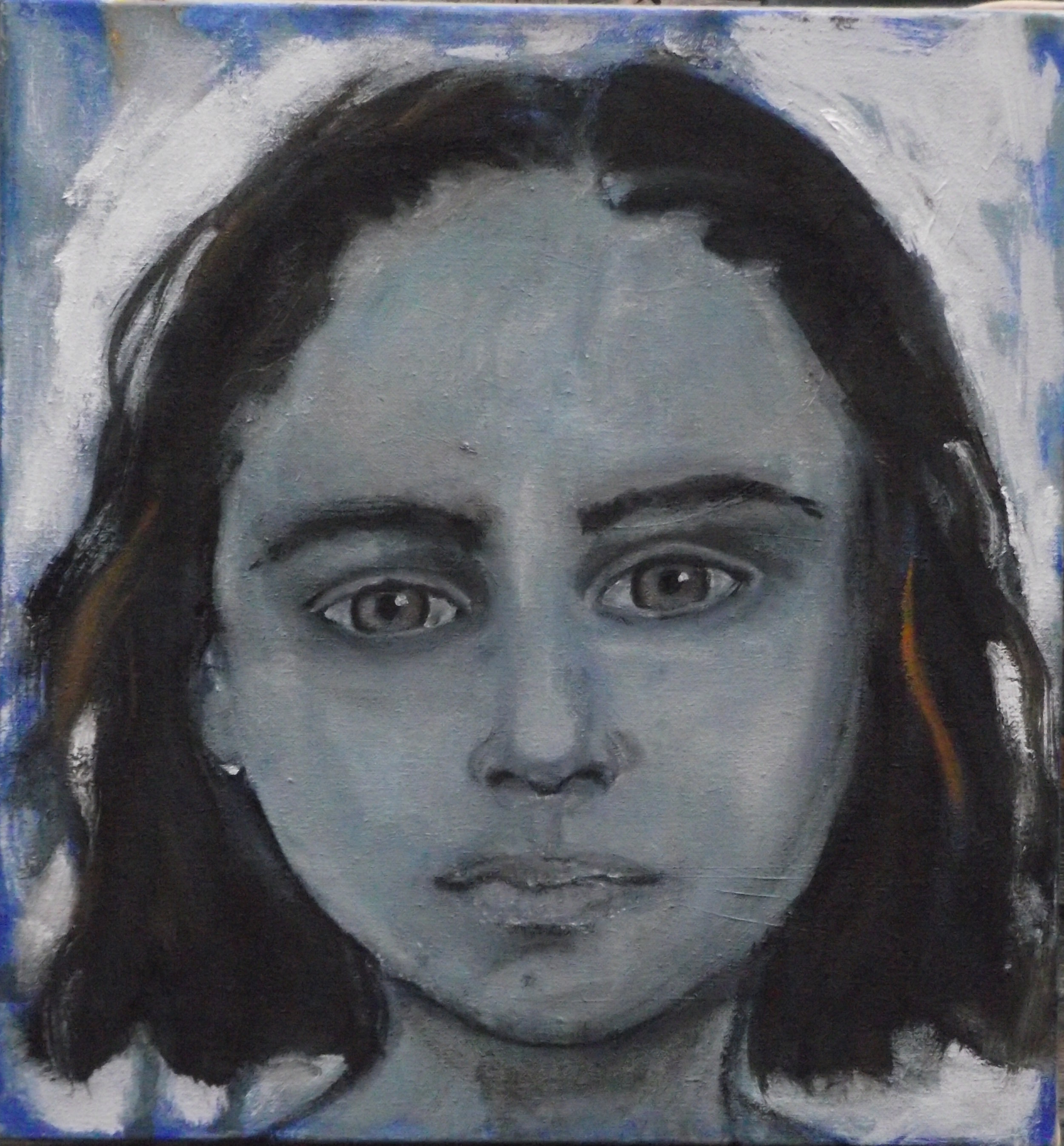Portuguese girl - Oil on canvas - Sold