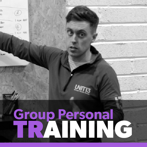 Most Popular Programme (€50 per week)   Like 1-1 Personal Training without the cost and WITH a super flexible timetable!   (Train up to 3 times per week).