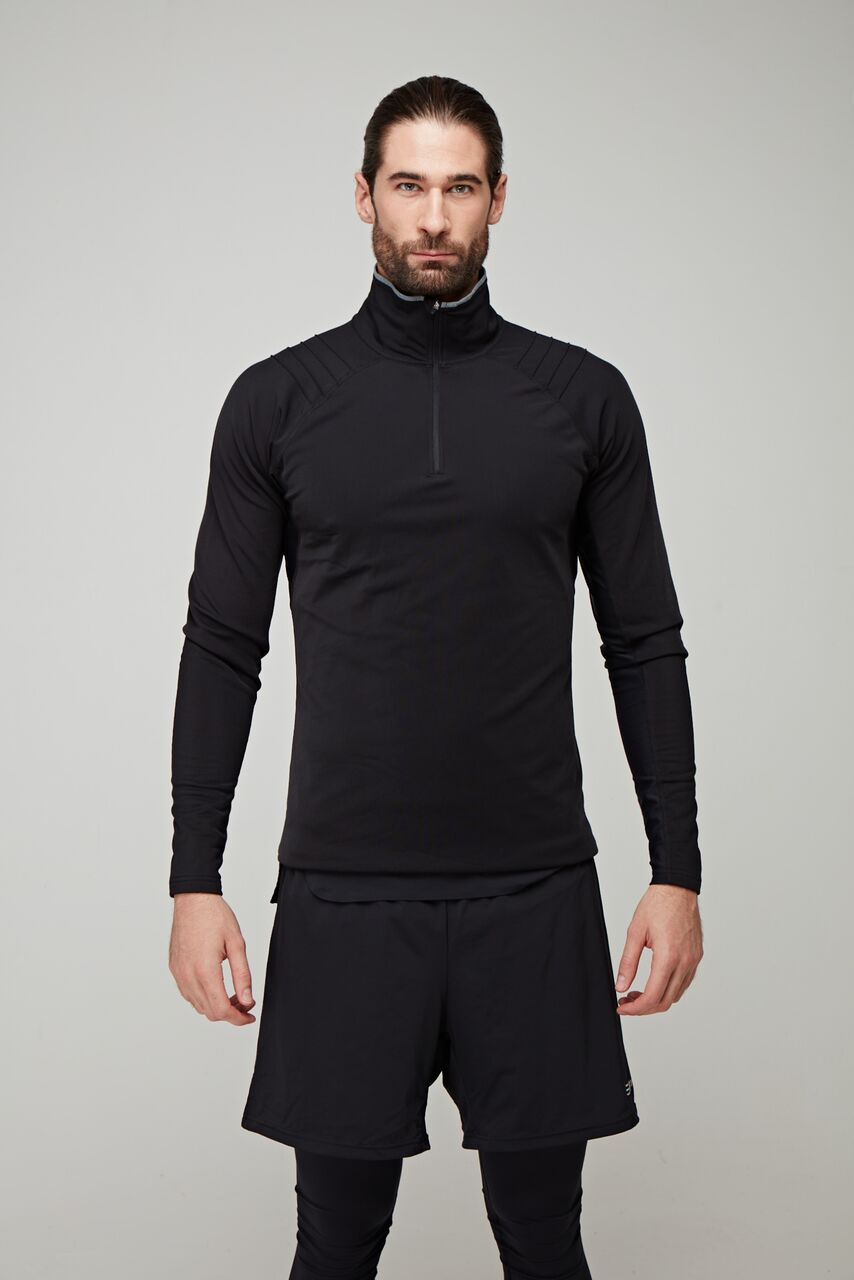 £78  OYM x SP Black 1/2 Zip Long Sleeve  , £88  OYM x SP Black Hybrid Leggings