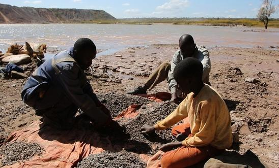 Cobalt mining in the Democratic Republic of Congo. Image: Amnesty International