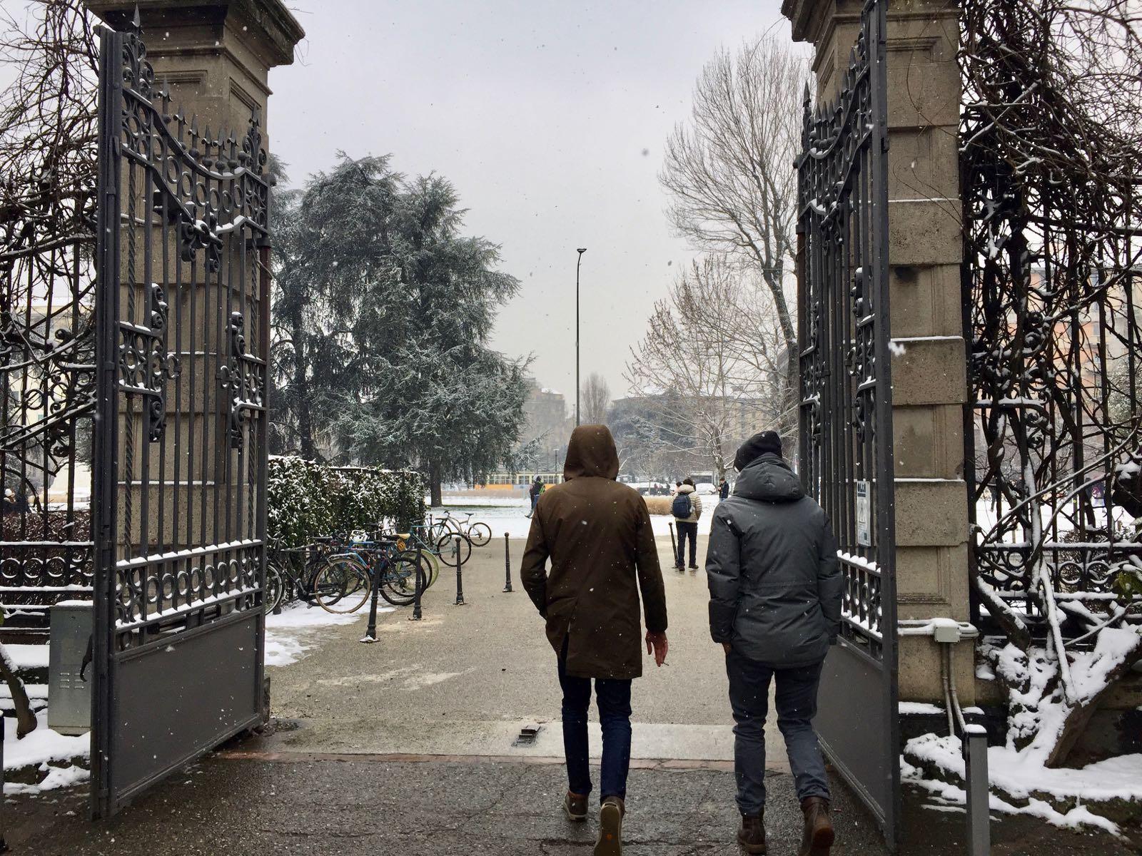 三月一号的雪