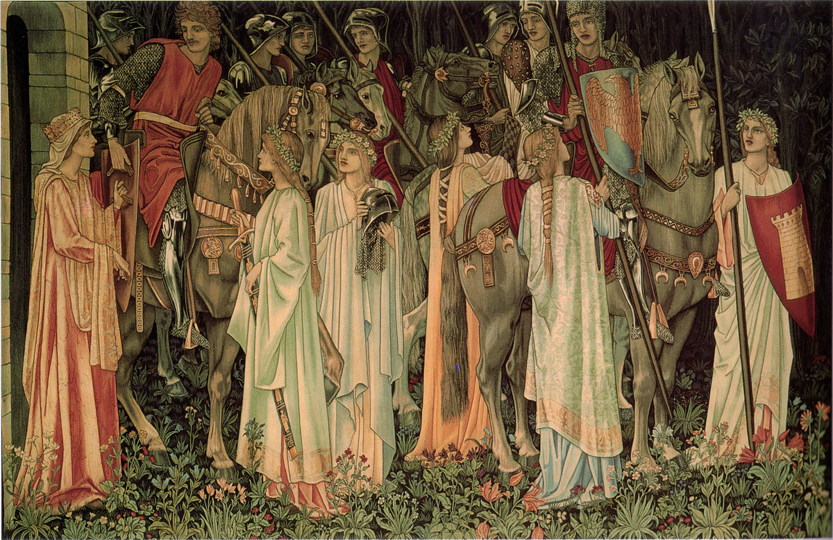 Edward Burne-Jones - Holy Tapestries